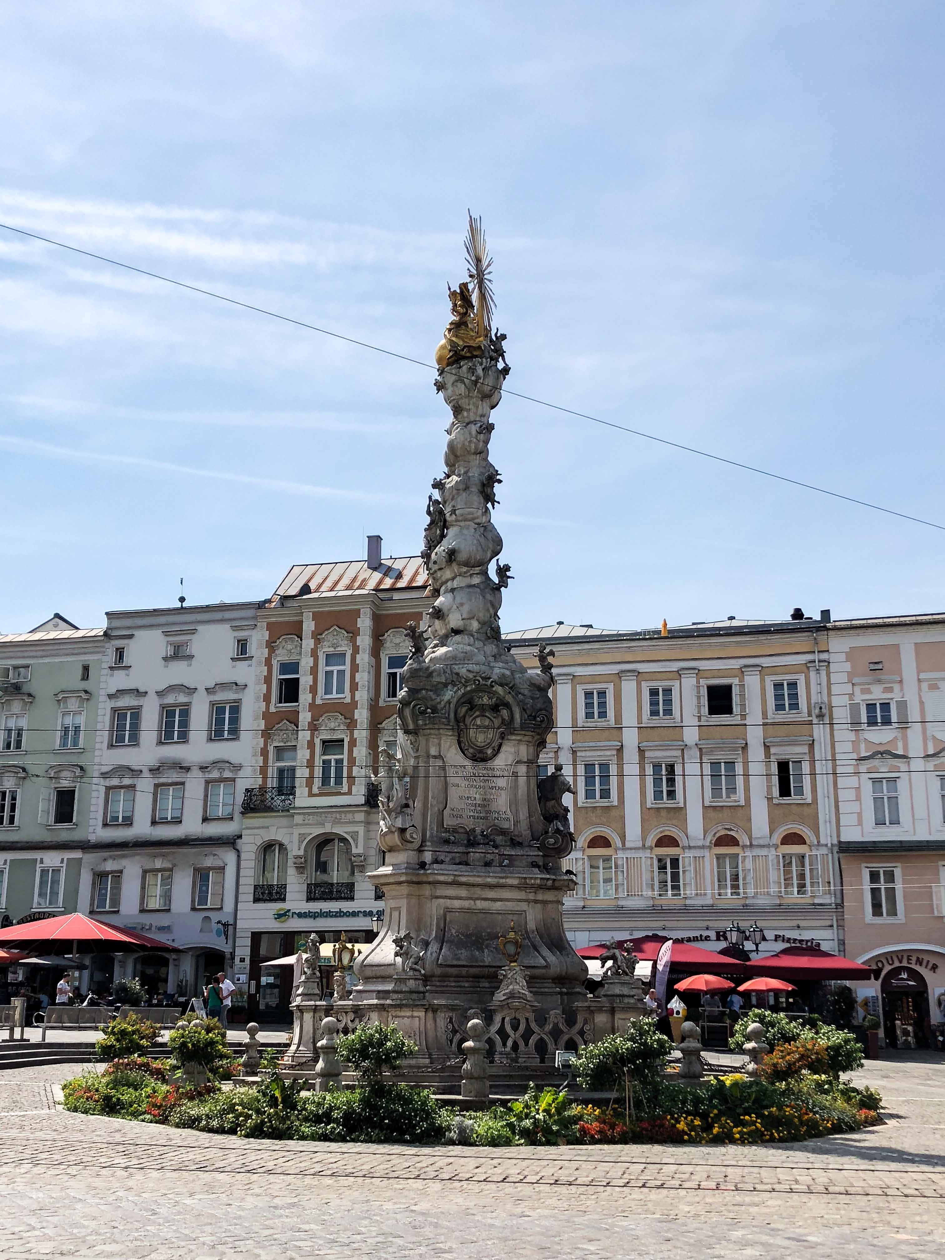 Linz Österreich Insider Tipps Sehenswürdigkeiten Donaukreuzfahrt Arosa Reiseblog Marktplatz