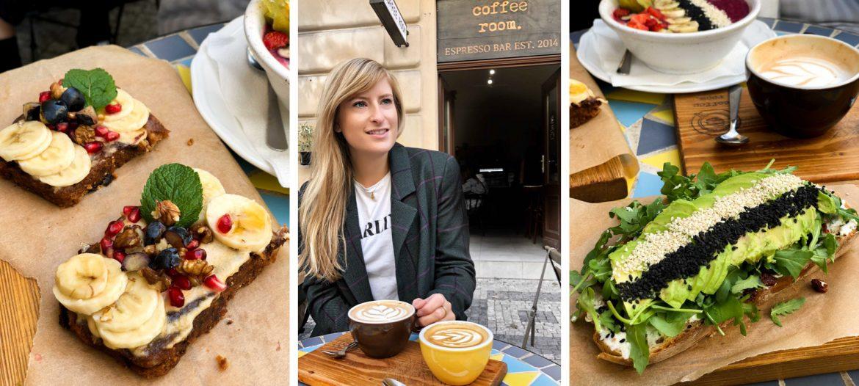 Restaurant Insider Tipps Prag Food Tipps besten Restaurants Prag Coffee Room Frühstück Avocadobrot Essen gehen Prag Bananenbrot vegan Prague