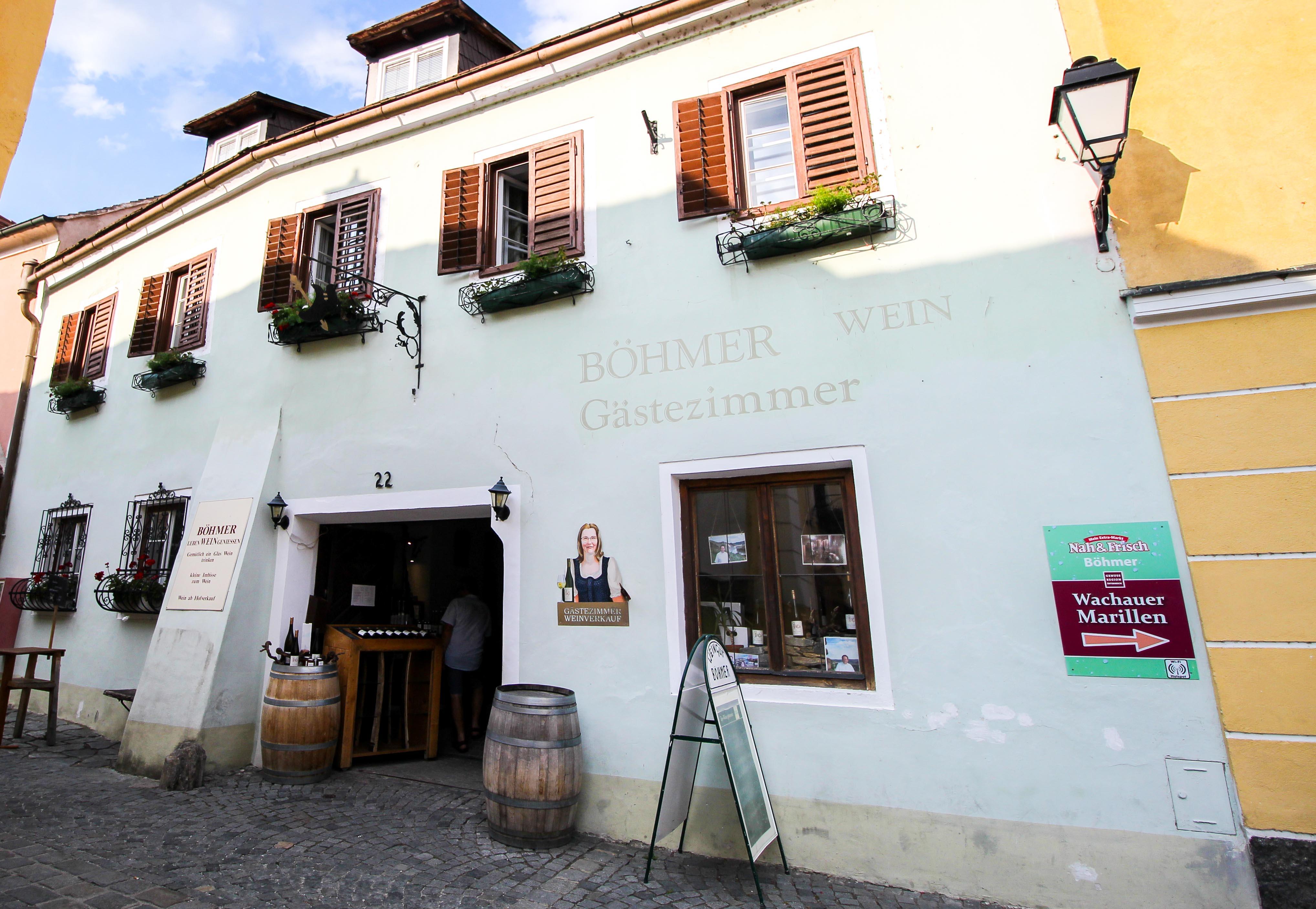 Wachau Österreich Dürnstein Weinregion Insider Tipps Sehenswürdigkeiten Böhmer Wein Weinprobe Donaukreuzfahrt Arosa