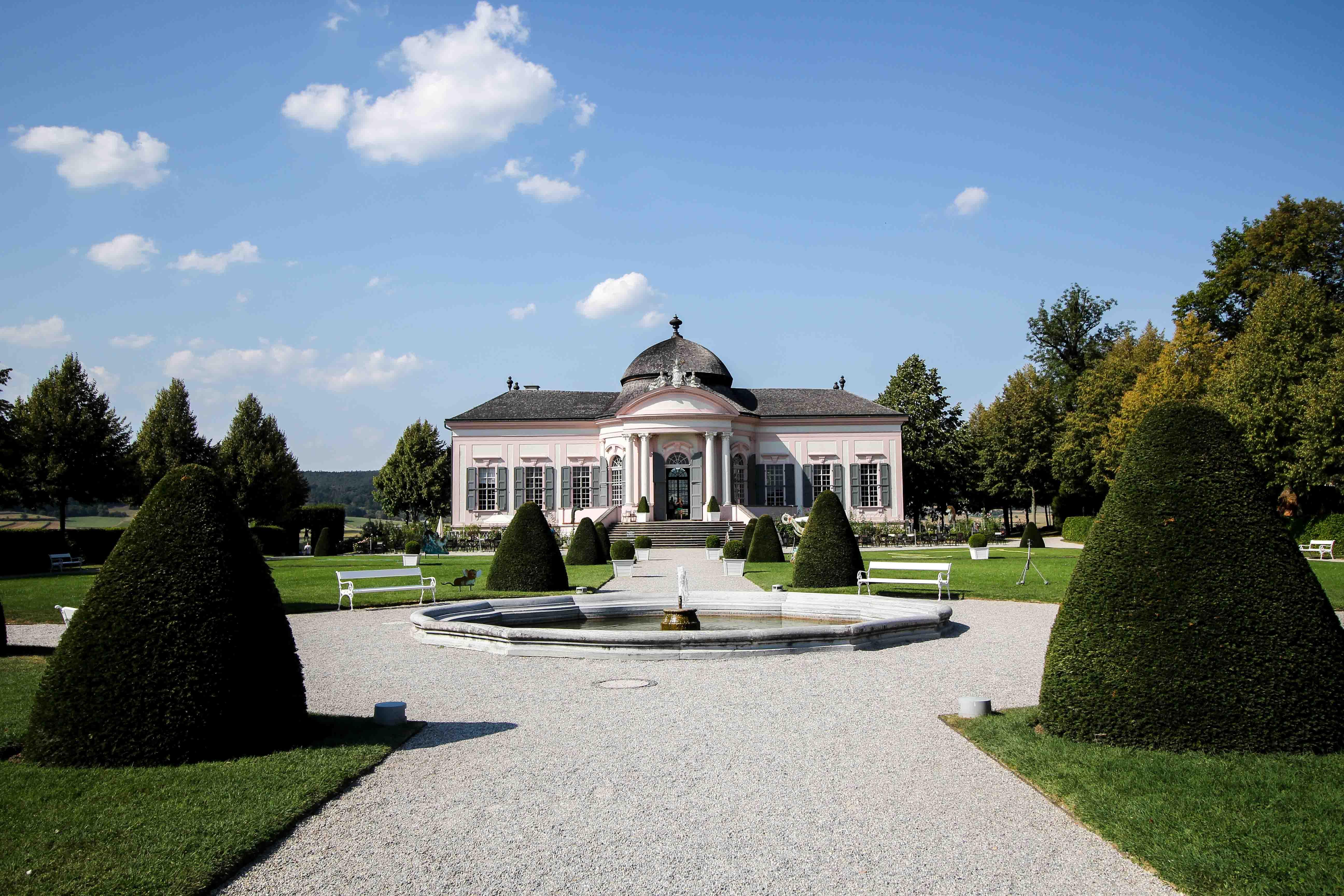 Wachau Österreich Melk Stift Melk Benediktinerkloster Gartenpavillion Insider Tipps Sehenswürdigkeiten Donaukreuzfahrt Arosa 2