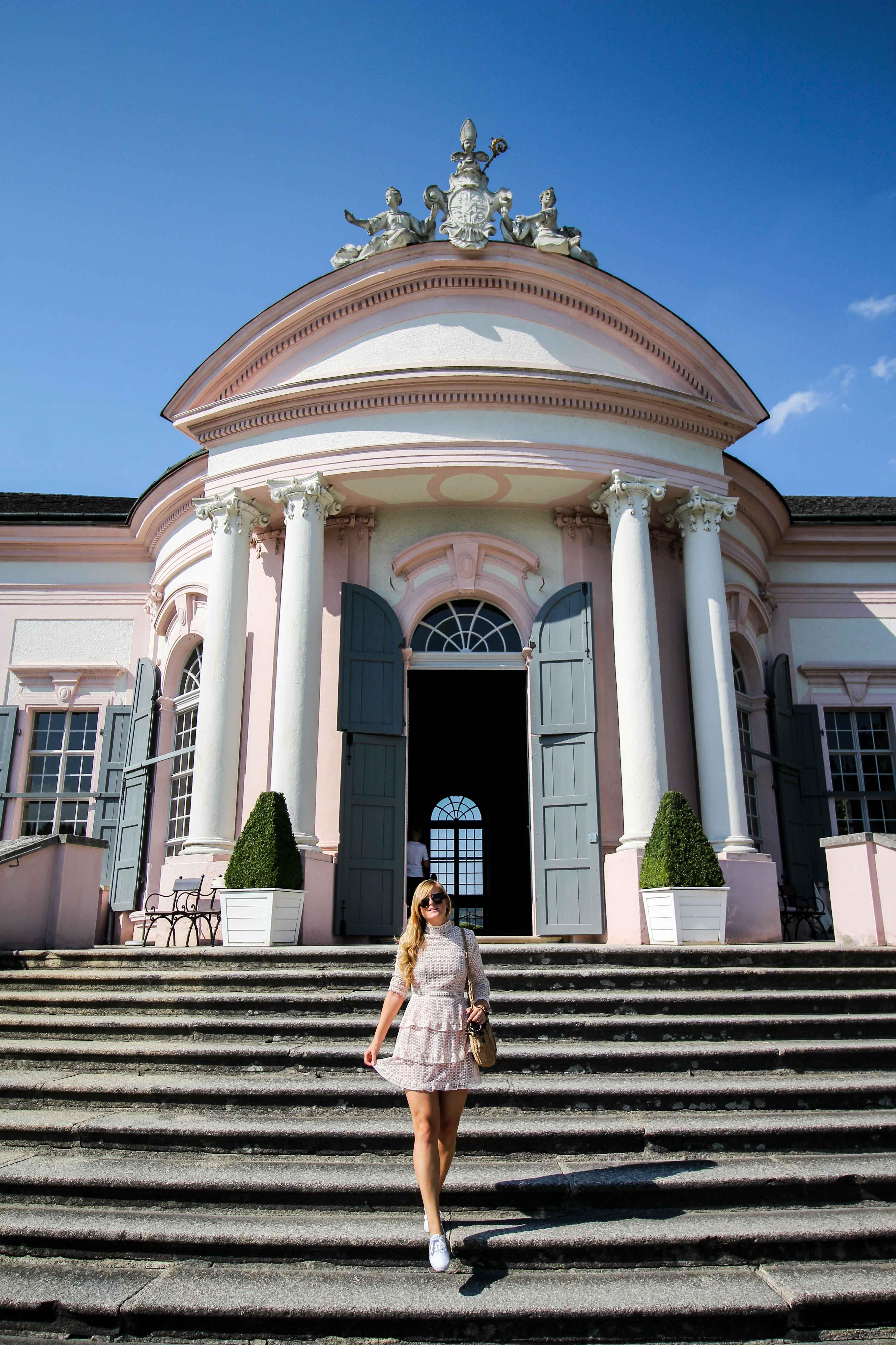 Wachau Österreich Melk Stift Melk Benediktinerkloster Gartenpavillion Insider Tipps Sehenswürdigkeiten Donaukreuzfahrt Arosa Reiseblog