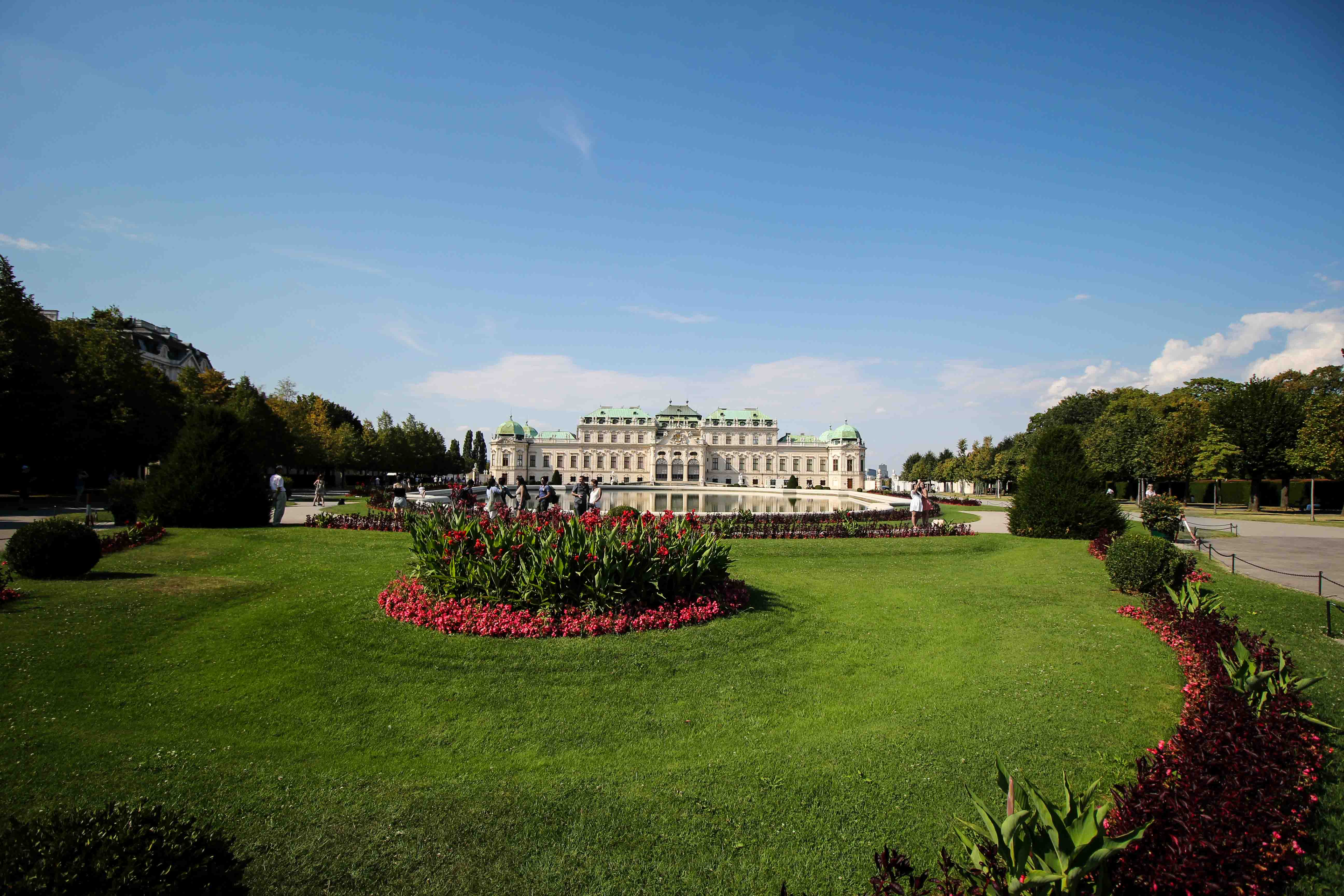 Wien Insider Tipps Sehenswürdigkeiten Schloss Belvedere Sightseeing Wien Vienna Donaukreuzfahrt Arosa