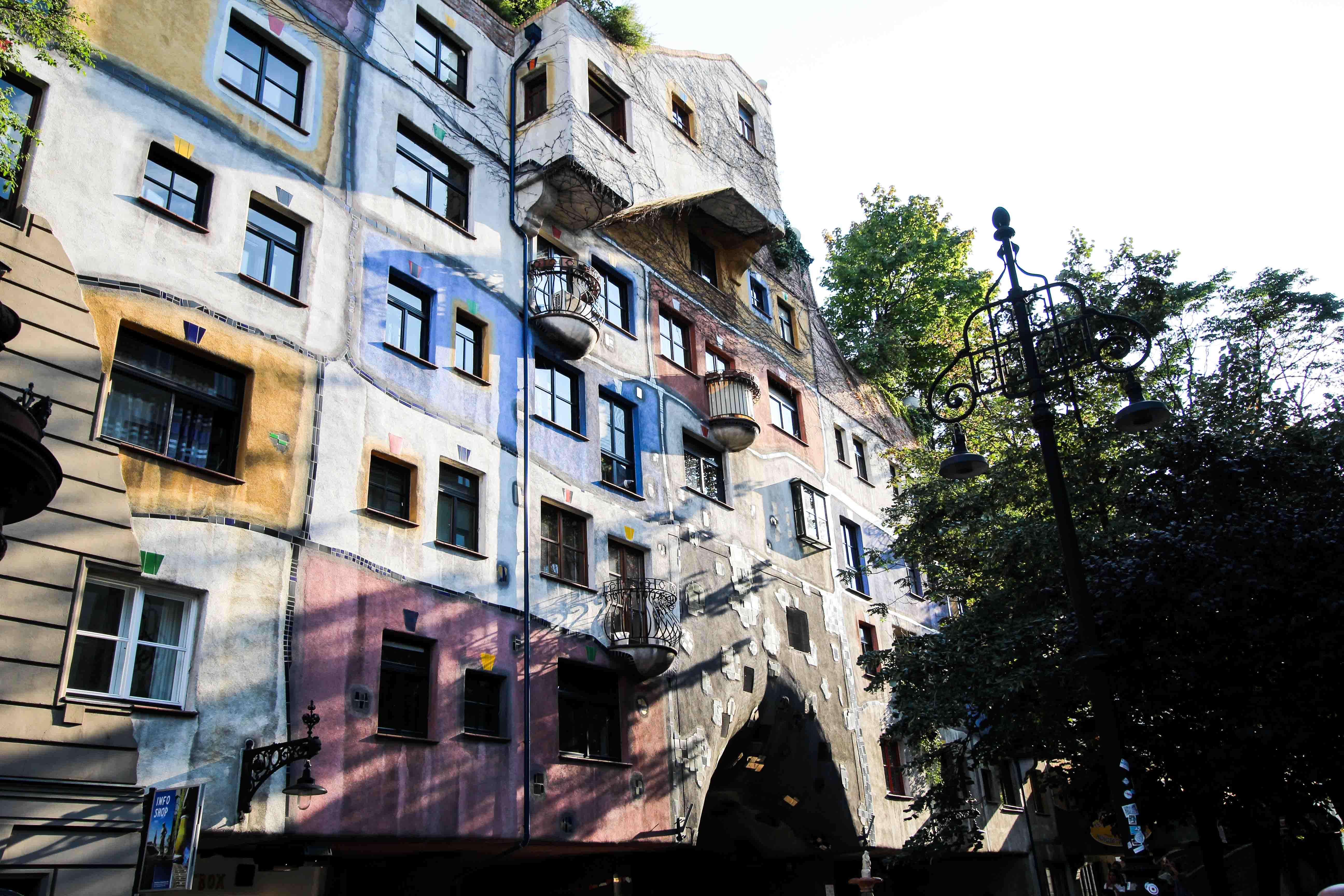 Wien Insider Tipps Sehenswürdigkeiten Wien Hundertwasser Haus Sightseeing Wien Vienna Donaukreuzfahrt Arosa