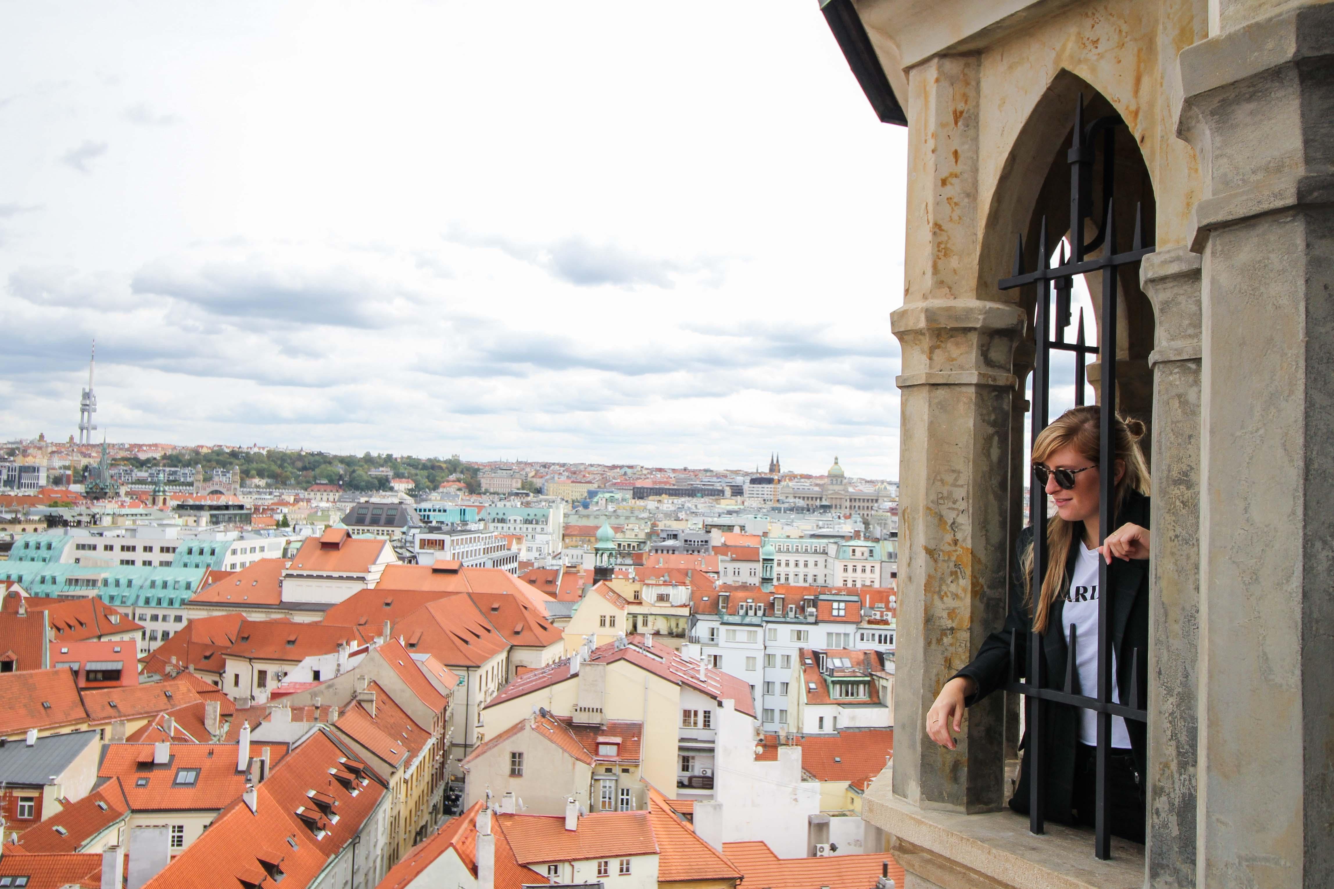 Top 10 Tipps Kurztrip Prag altes Rathaus Rathausturm Ausblick Sehenswürdigkeiten Prag Insidertipps Reiseblog 4