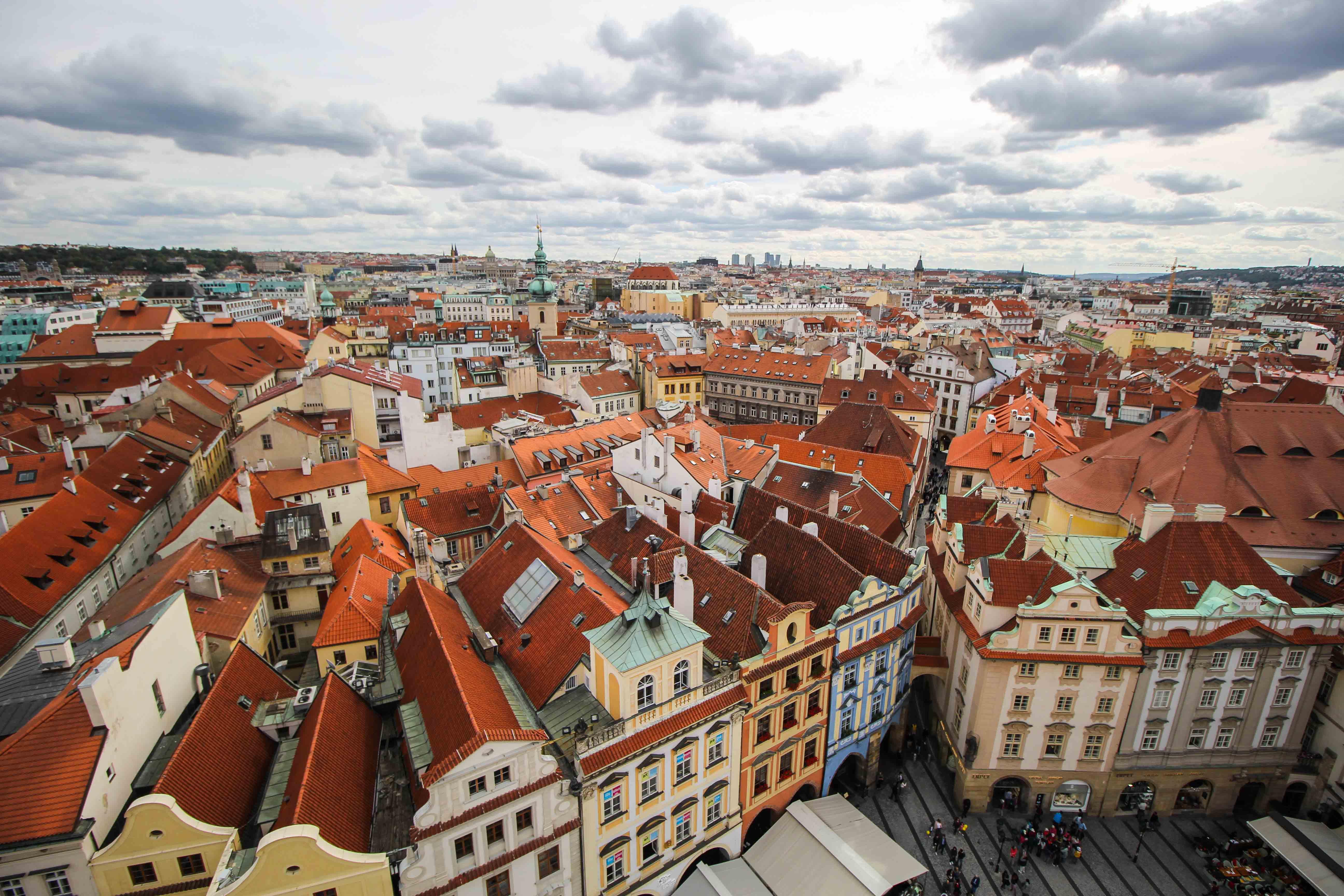 Top 10 Tipps Kurztrip Prag altes Rathaus Rathausturm Ausblick Sehenswürdigkeiten Prag Insidertipps Reiseblog