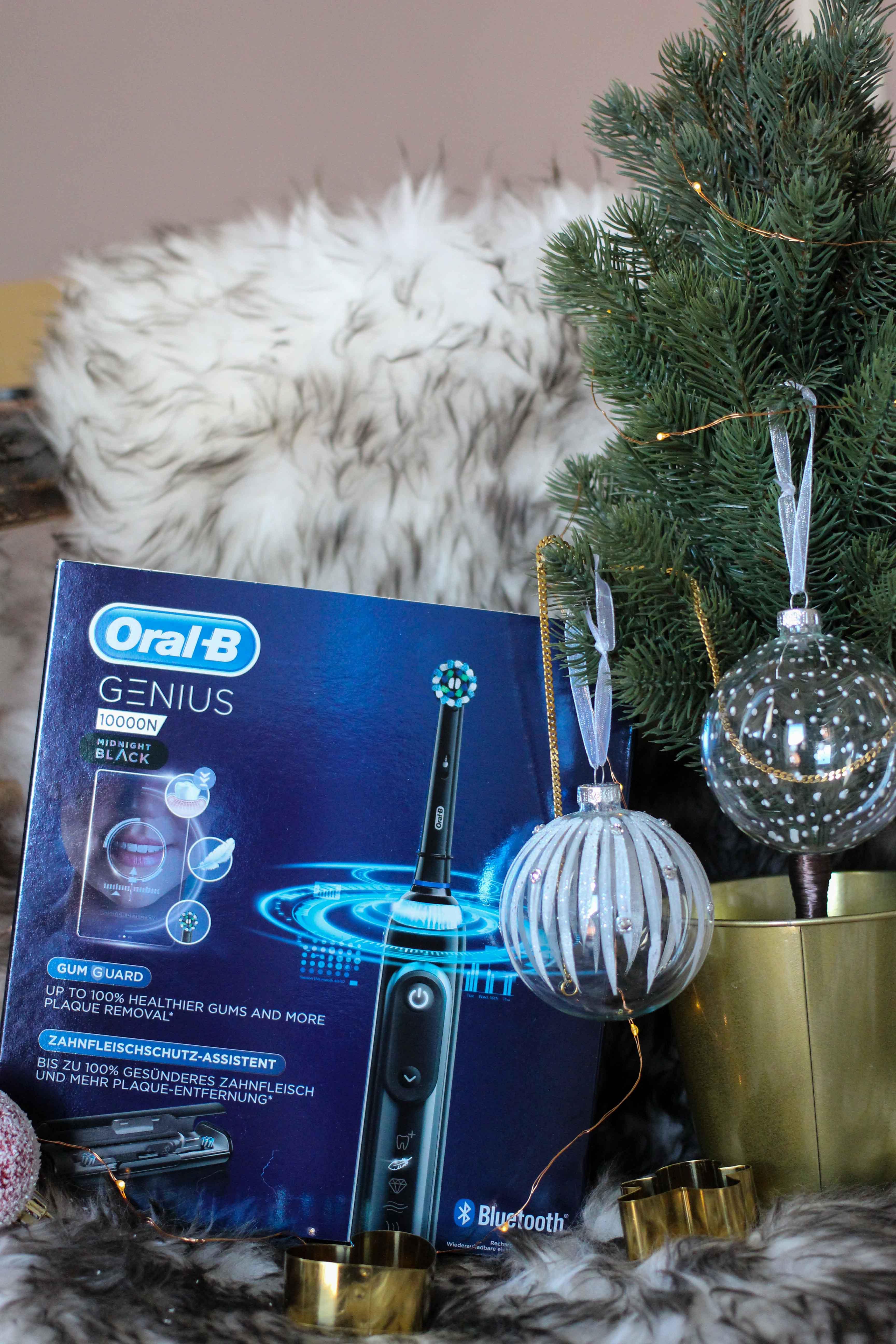 Aldi Adventskalender Gewinnspiel Oral-B Genius 10000N Black Edition ALDIventskalender elektrische Zahnbürste Weihnachtsgeschenk Blog