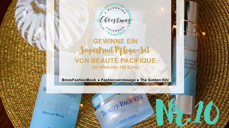 Blogger Adventskalender Gewinnspiel Beaute Pacifique SuperFruit Pflege Hautpflege Geschenkidee Weihnachten Christmas Blogger Tipps