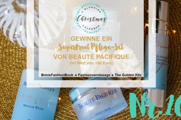 Blogger Adventskalender Gewinnspiel Beaute Pacifique SuperFruit Pflege Hautpflege Geschenkidee Weihnachten Christmas Blogger Tipps