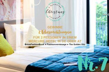 Blogger Adventskalender Gewinnspiel Mercure Hotel Deutschland Österreich Accor Hotels Weihnachten Christmas Blogger Tipps