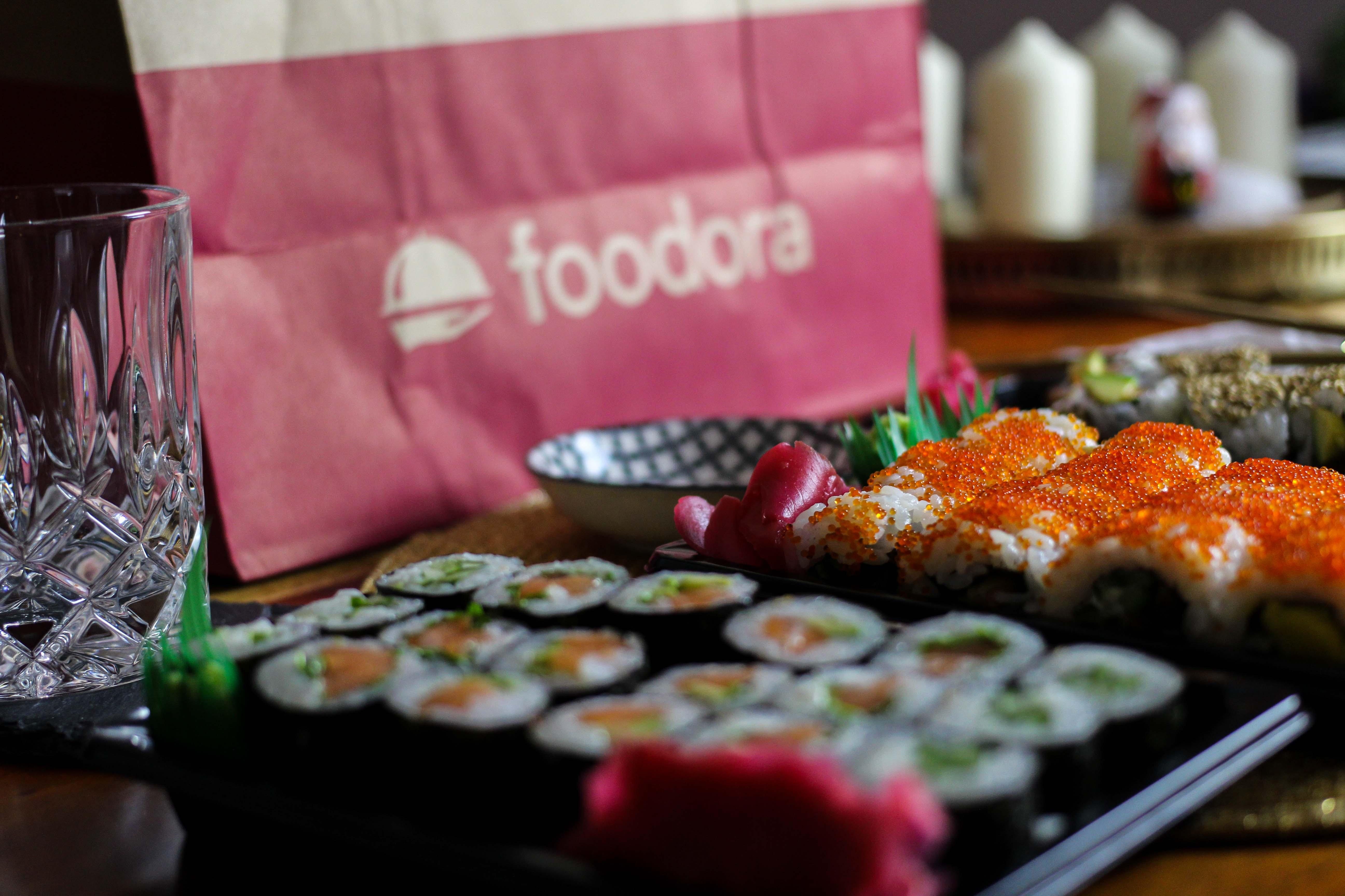 Blogger Adventskalender Gewinnspiel Foodora Gutscheine Foodora Bonn Sushi Makiman 3