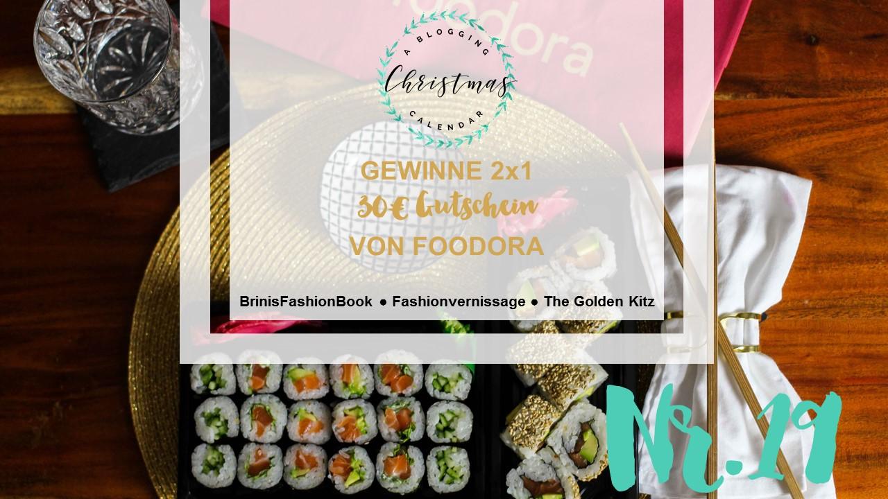 Blogger Adventskalender Gewinnspiel Foodora Gutscheine Foodora Bonn Sushi Makiman 5