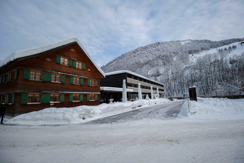 Wellnesswochenende Österreich Sonne Lifestyle Resort Mellau Wellnesshotel Bregenzerwald Reiseblog