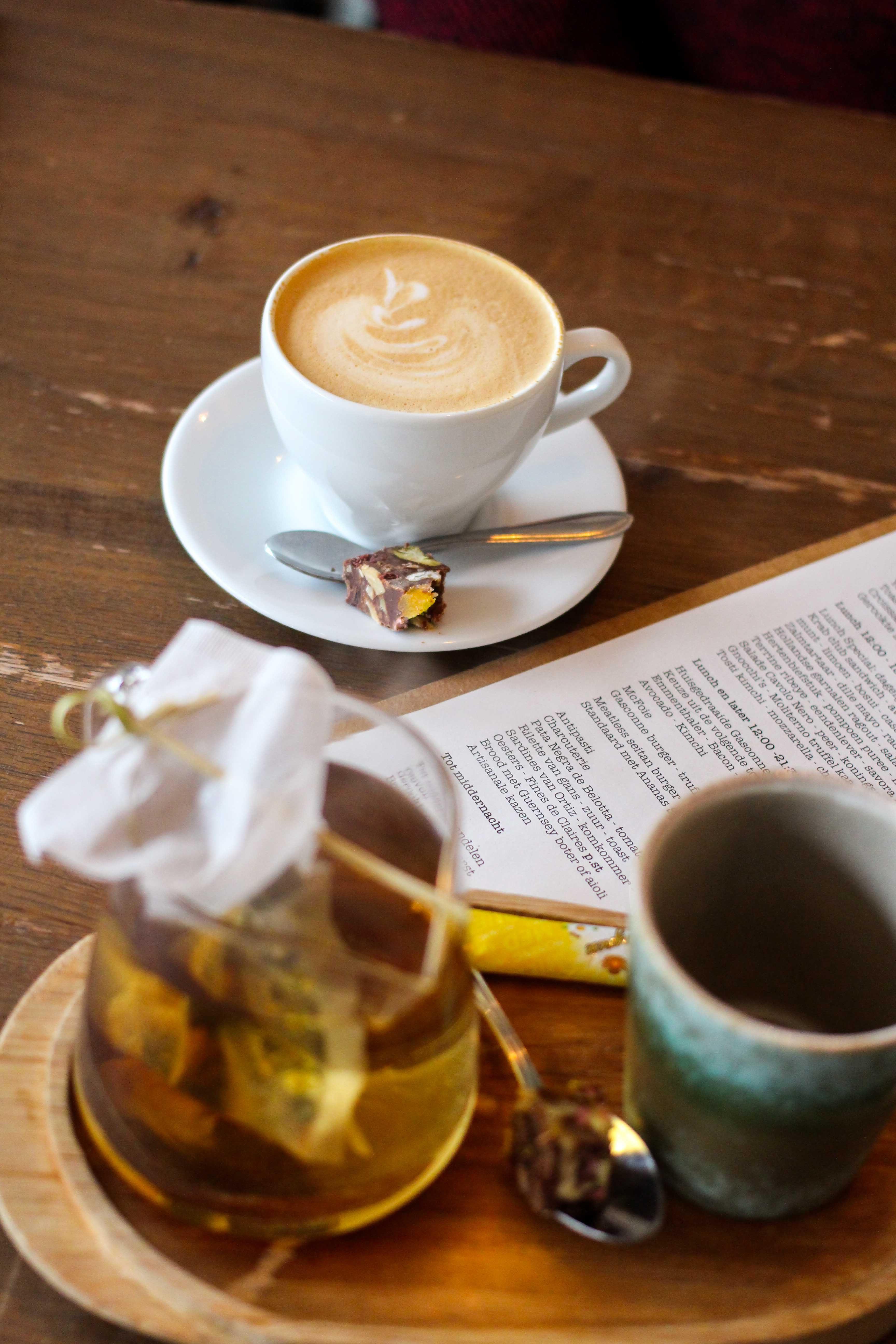 Wochenendtrip Holland das andere Holland Mittagessen Sugar Hill Kaffee Chai Latte