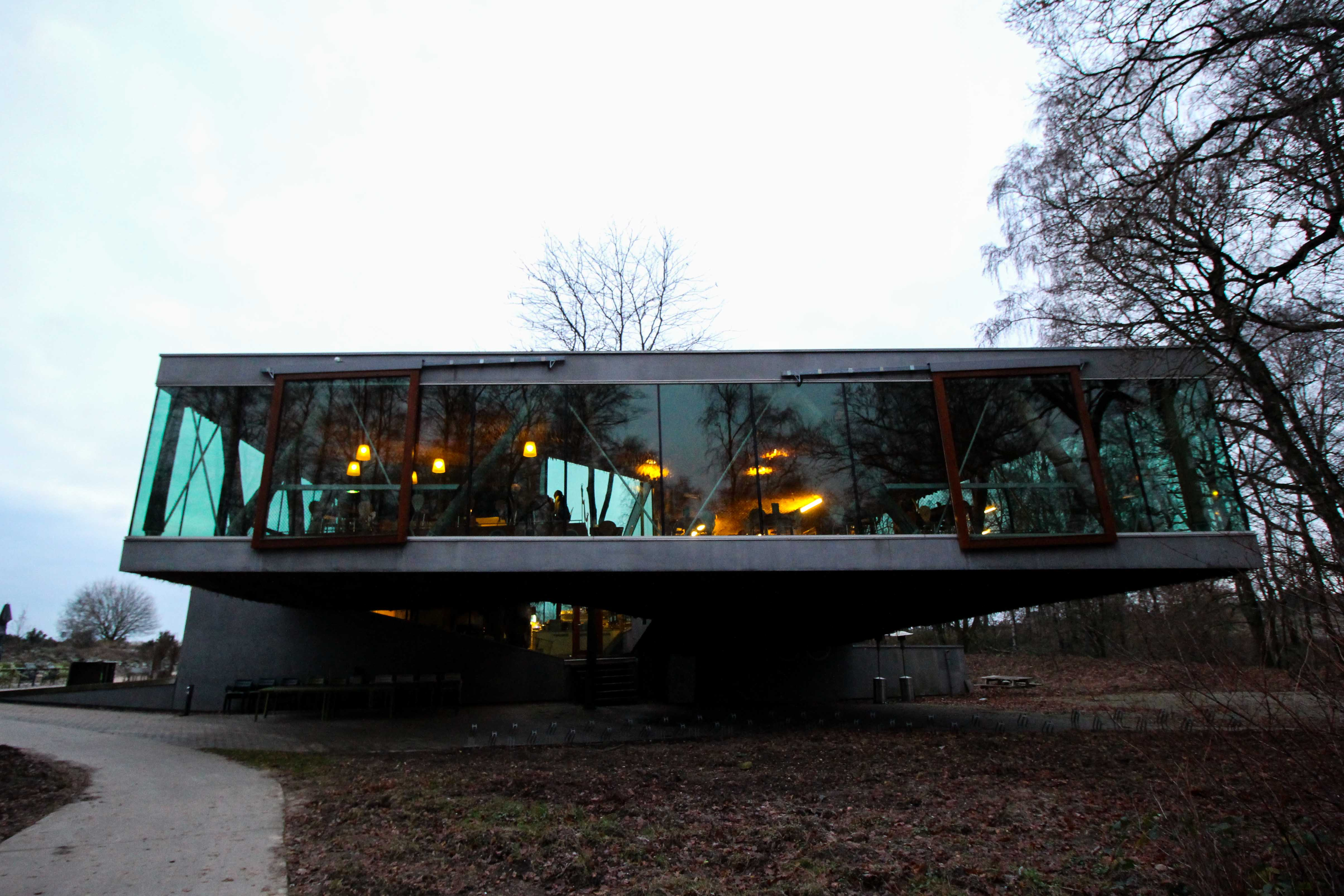 Wochenendtrip Holland das andere Holland Nationalpark Veluwe Transferium Posbank Cafe Restaurant Reiseblog
