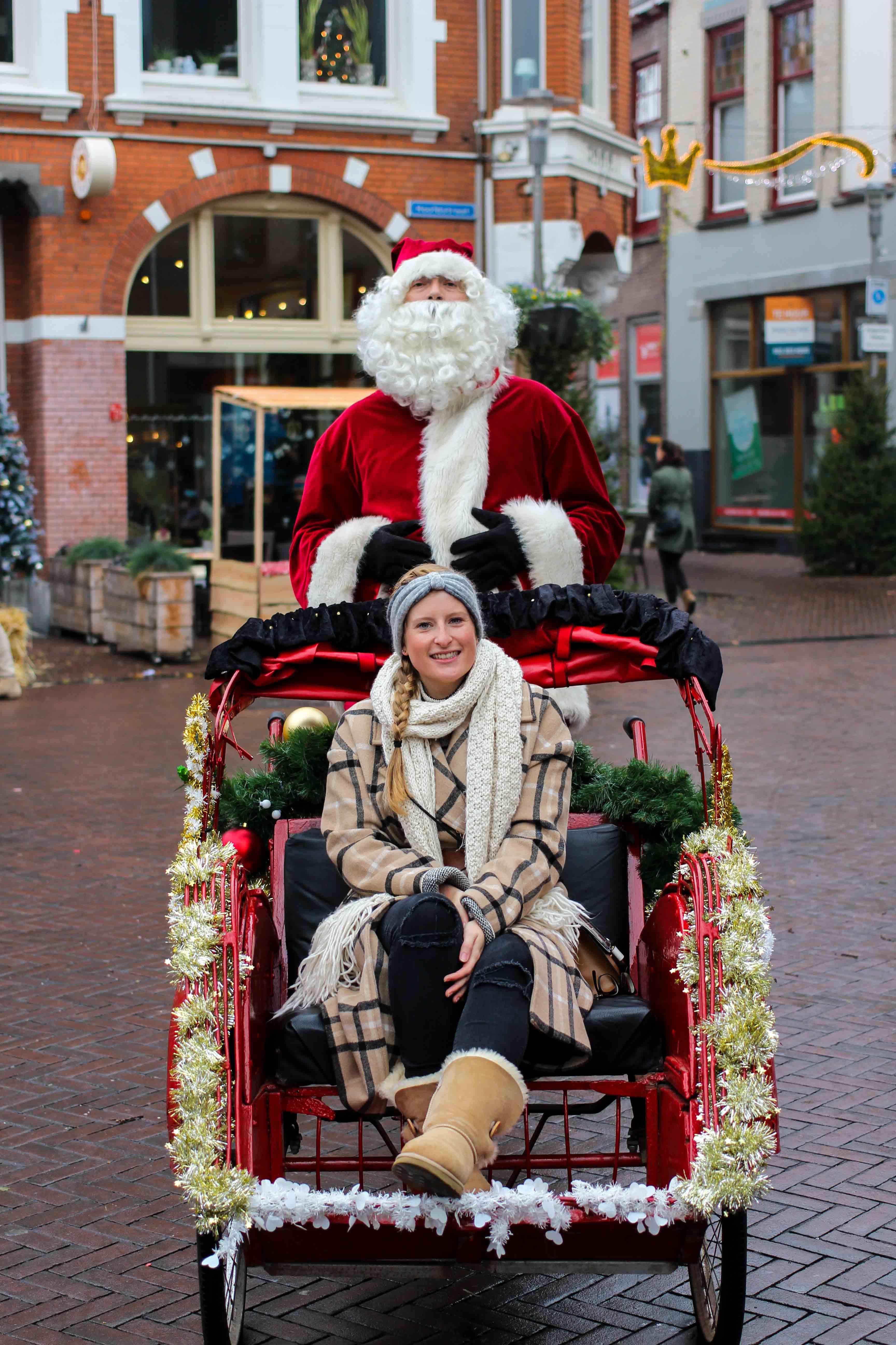 Wochenendtrip das andere Holland Kurztrip Apeldoorn Winterfair Weihnachtsmann
