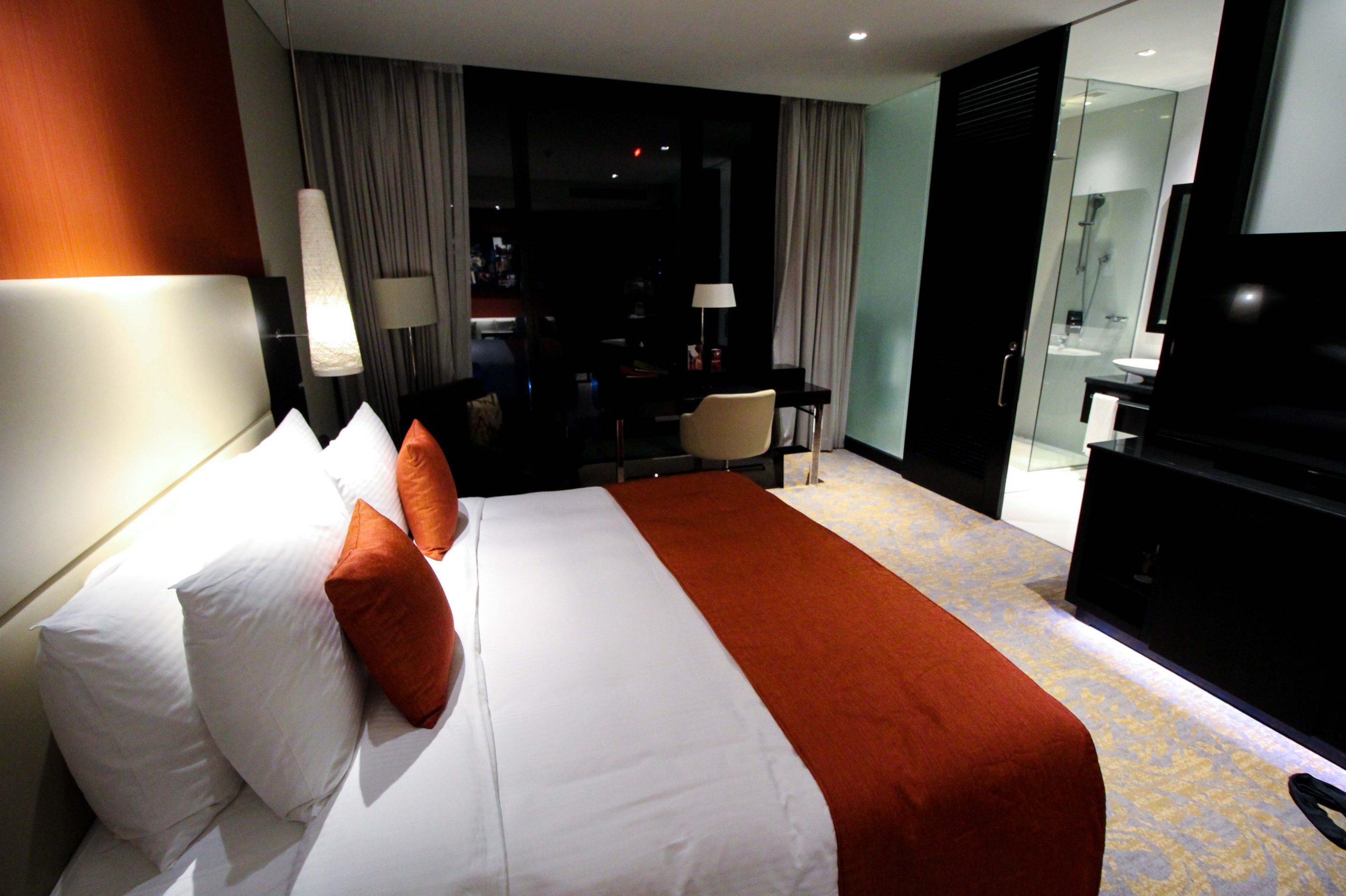Mövenpick Colombo Hotel Reiseblog Reisebericht Superior Zimmer King-Size Bett Rundreise Sri Lanka