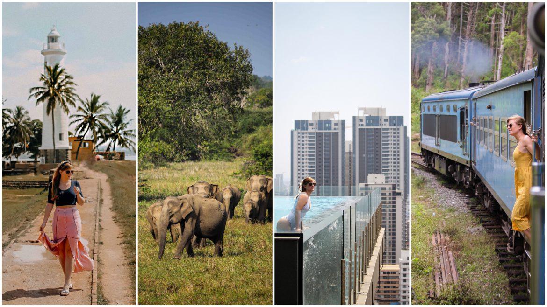 Sri Lanka Reiseroute perfekte 3 Wochen Rundreise Sri Lanka Süden Safari Galle Strand Reiseblog Tipps