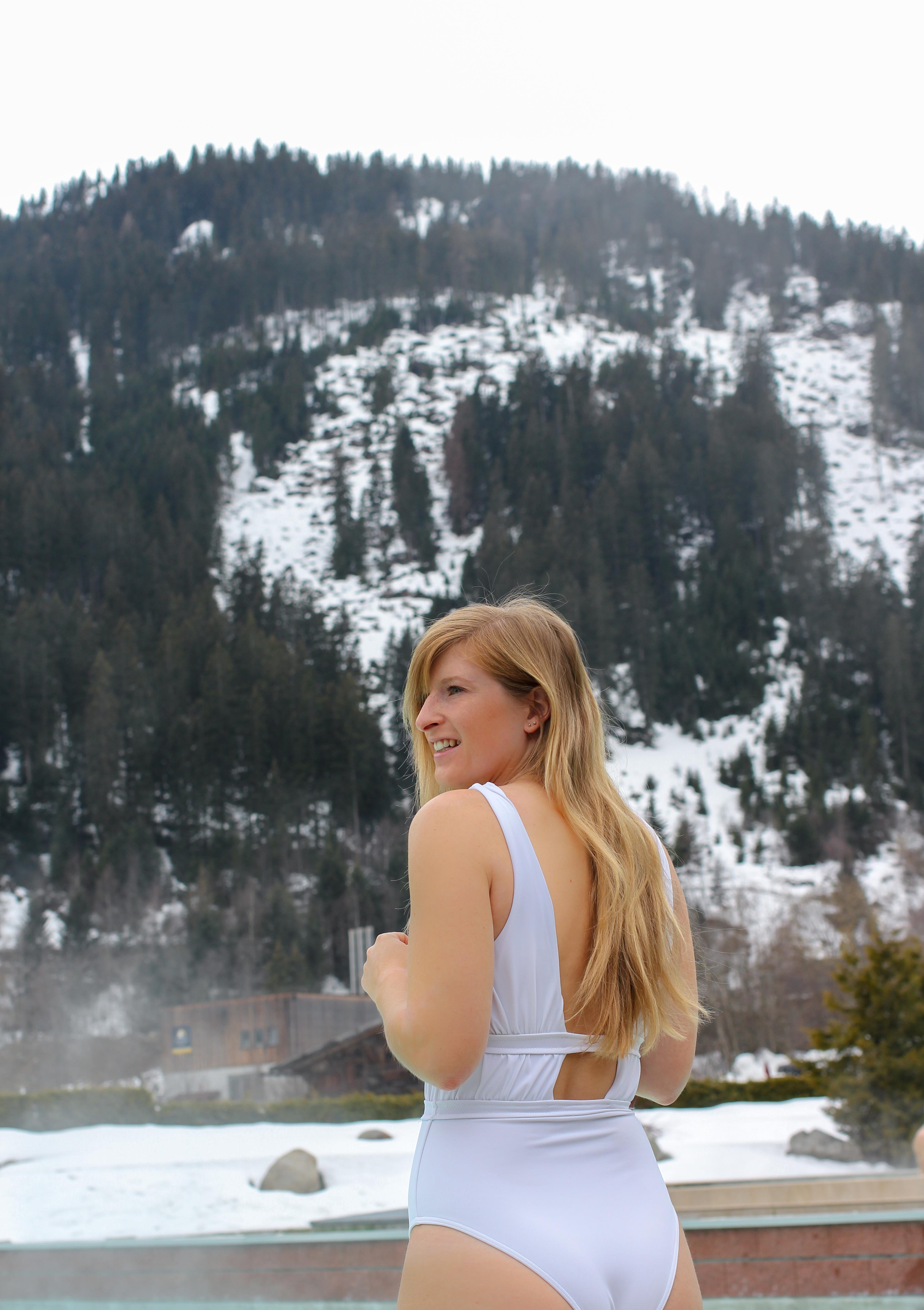 Südtirol Hotel Schneeberg Resort Spa Wellnessbereich Außenpool Italien Wellnesshotel Reiseblog Wellnessurlaub Kurzurlaub Hotelempfehlung Skiurlaub
