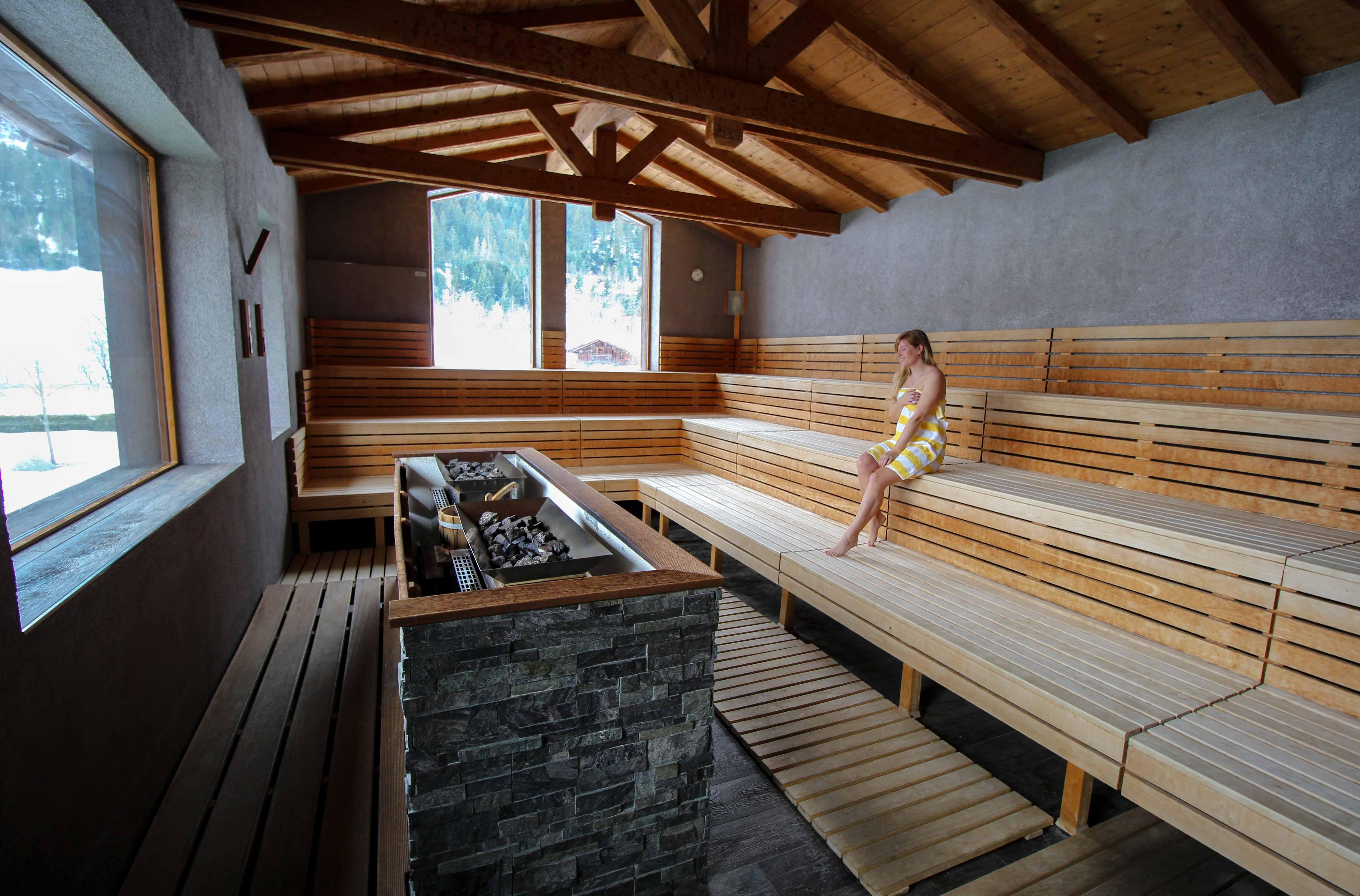 Südtirol Hotel Schneeberg Resort Spa Wellnessbereich Panoramasauna Erlebnissauna italien Wellnesshotel Reiseblog Wellnessurlaub Kurzurlaub Hotelempfehlung Skiurlaub 2