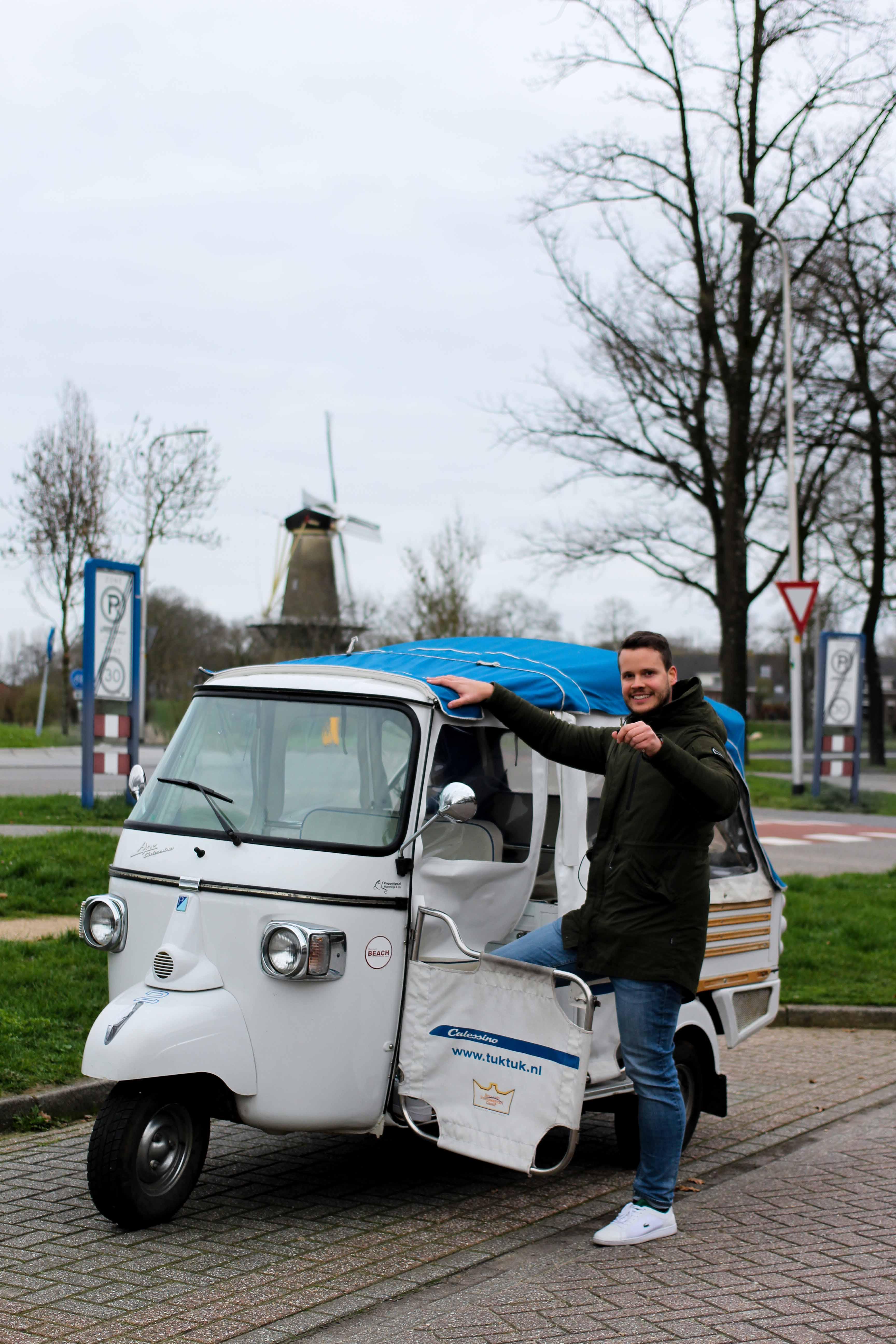 Wochenendtrip Holland Tuk Tuk fahren Holland Evenement Groep Tour Tuk Tuk Bingo das andere Holland Reiseblog Ausflug von Deutschland