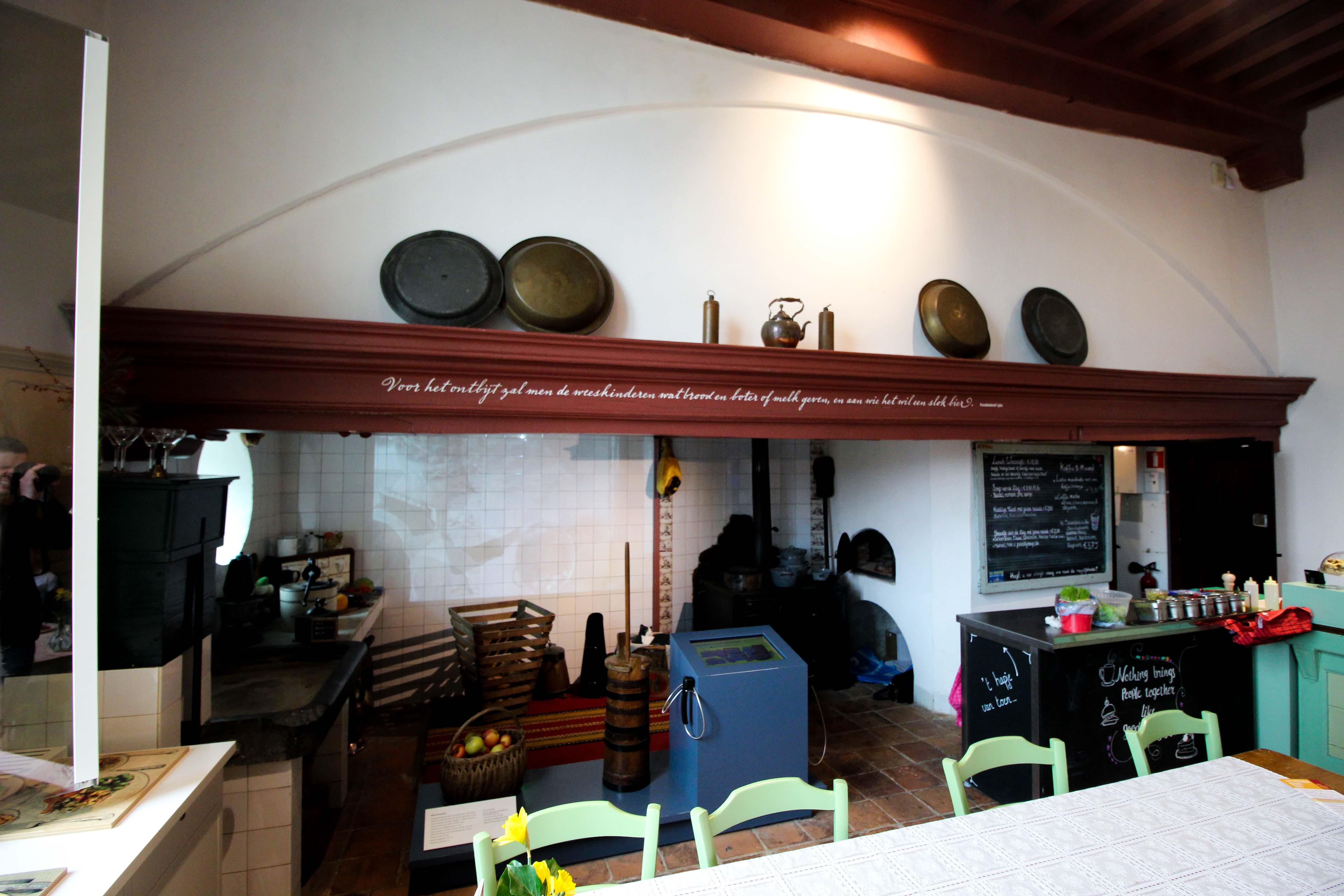 Wochenendtrip Holland Waisenhausmuseum Culemborg Elisabeth Weeshuis Museum Küche Cafe das andere Holland Reiseblog Ausflug von Deutschland