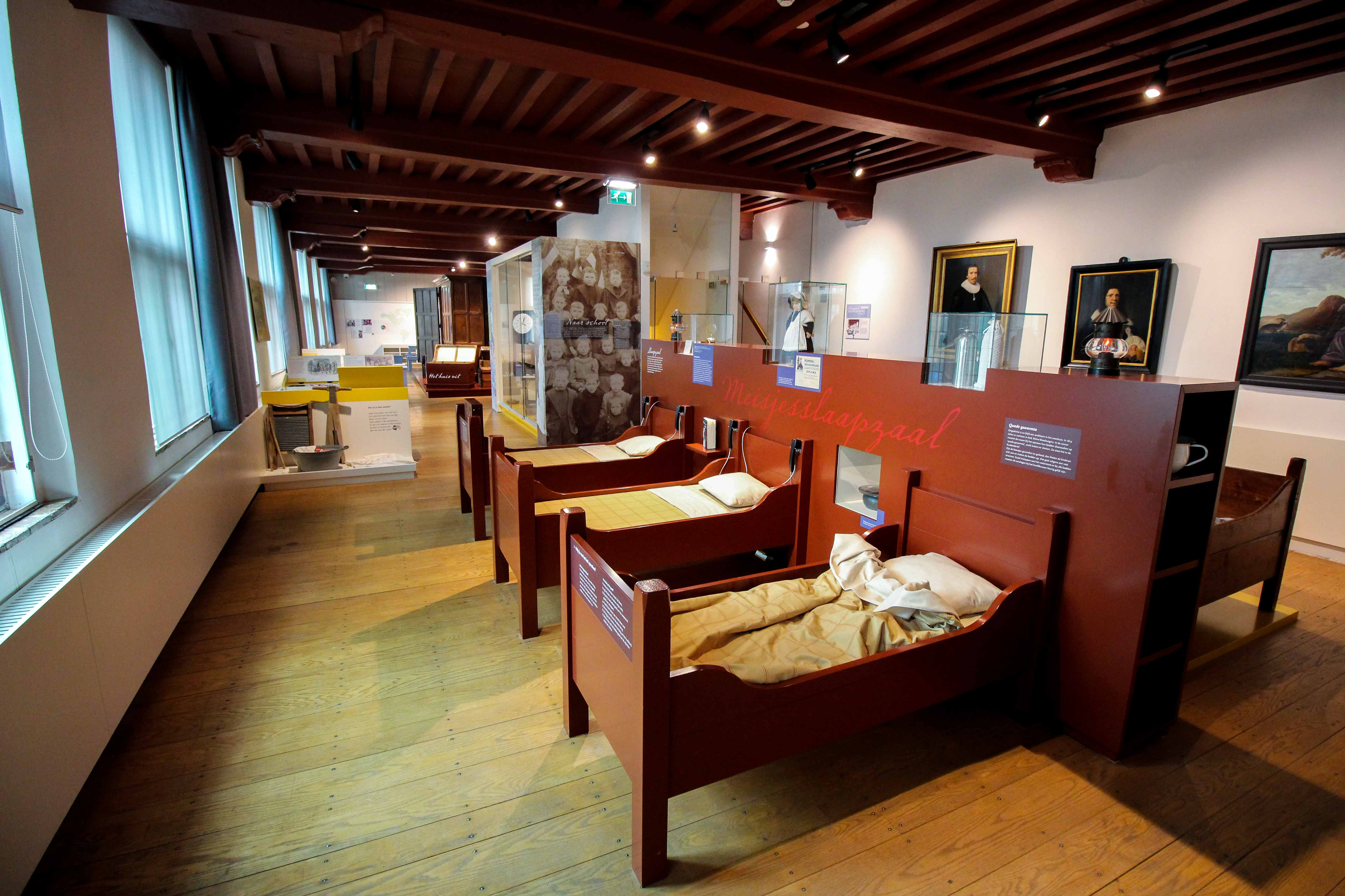 Wochenendtrip Holland Waisenhausmuseum Culemborg Elisabeth Weeshuis Museum Schlafzimmer das andere Holland Reiseblog Ausflug von Deutschland