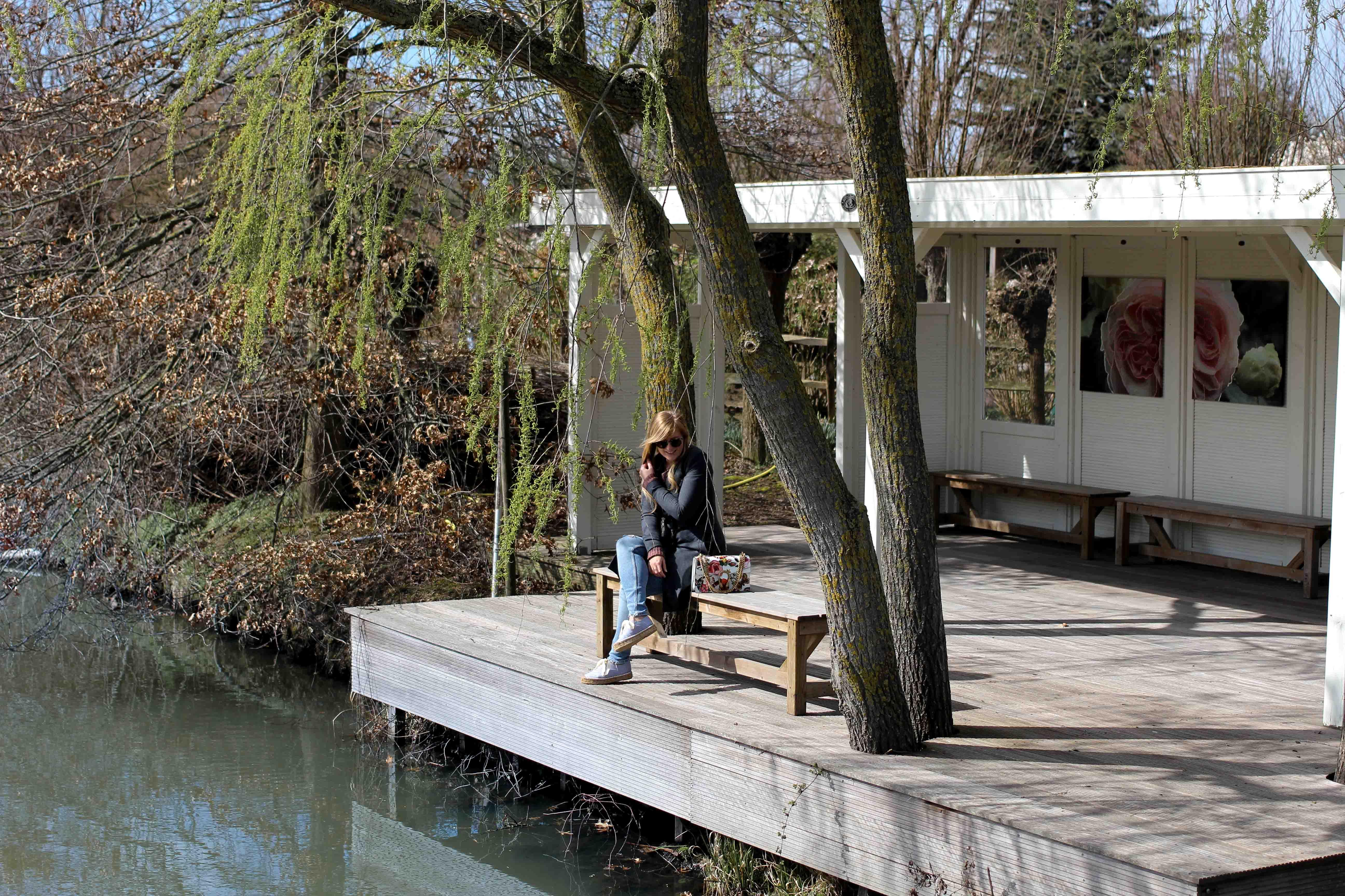 die Gärten von Appeltern Holland Wochenendtrip Tuinen van Appeltern das andere Holland Reiseblog Ausflug Deutschland Fluss 2