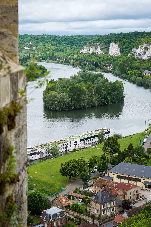 Château Gaillard Richard Löwenherz Les Andelys Tipps Normandie Rundreise beste Reiseroute Seine Flusskreuzfahrt AROSA Sehenswürdigkeiten Reiseblog 3