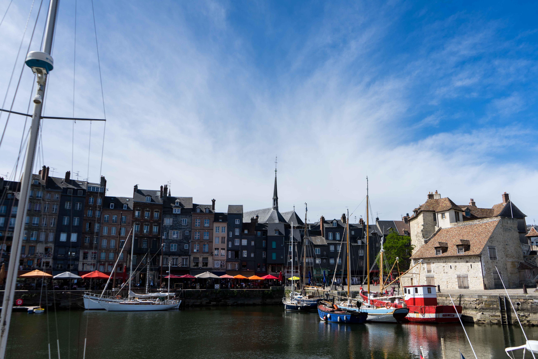 Hafen Honfleur GeheimTipps Normandie Rundreise beste Reiseroute Seine Flusskreuzfahrt AROSA Sehenswürdigkeiten Sightseeing Reiseblog