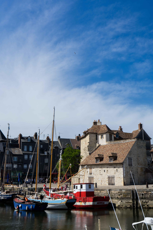 Hafen Honfleur Schiffe Tipps Normandie Rundreise beste Reiseroute Seine Flusskreuzfahrt AROSA Sehenswürdigkeiten Sightseeing Reiseblog