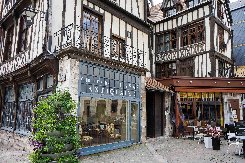 Hauptstadt Normandie Rouen Fachwerkhäuser Tipps Normandie Rundreise beste Reiseroute Seine Flusskreuzfahrt AROSA Sehenswürdigkeiten Sightseeing Reiseblog