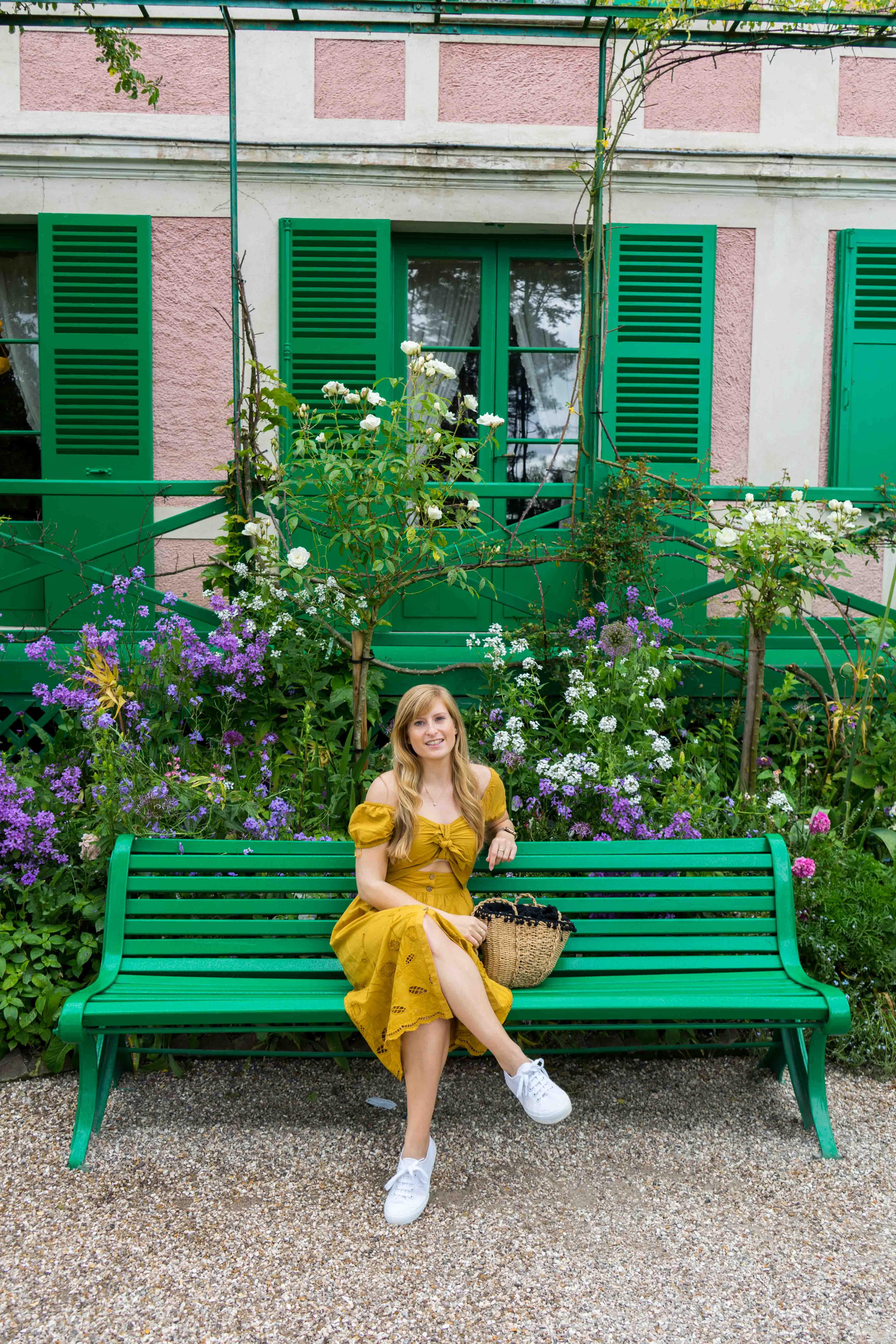 Monets Garten Givenchy Brinisfashionbook Monet Normandie Rundreise beste Reiseroute Seine Flusskreuzfahrt AROSA Sehenswürdigkeiten Sightseeing Reiseblog