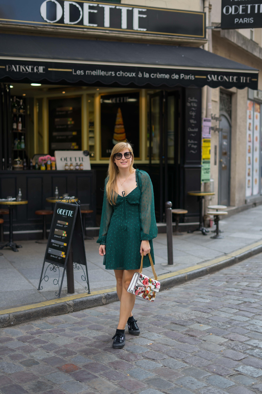 Paris Streetstyle Normandie Rundreise beste Reiseroute Seine Flusskreuzfahrt AROSA Paris Sehenswürdigkeiten Outfit Sightseeing Reiseblog