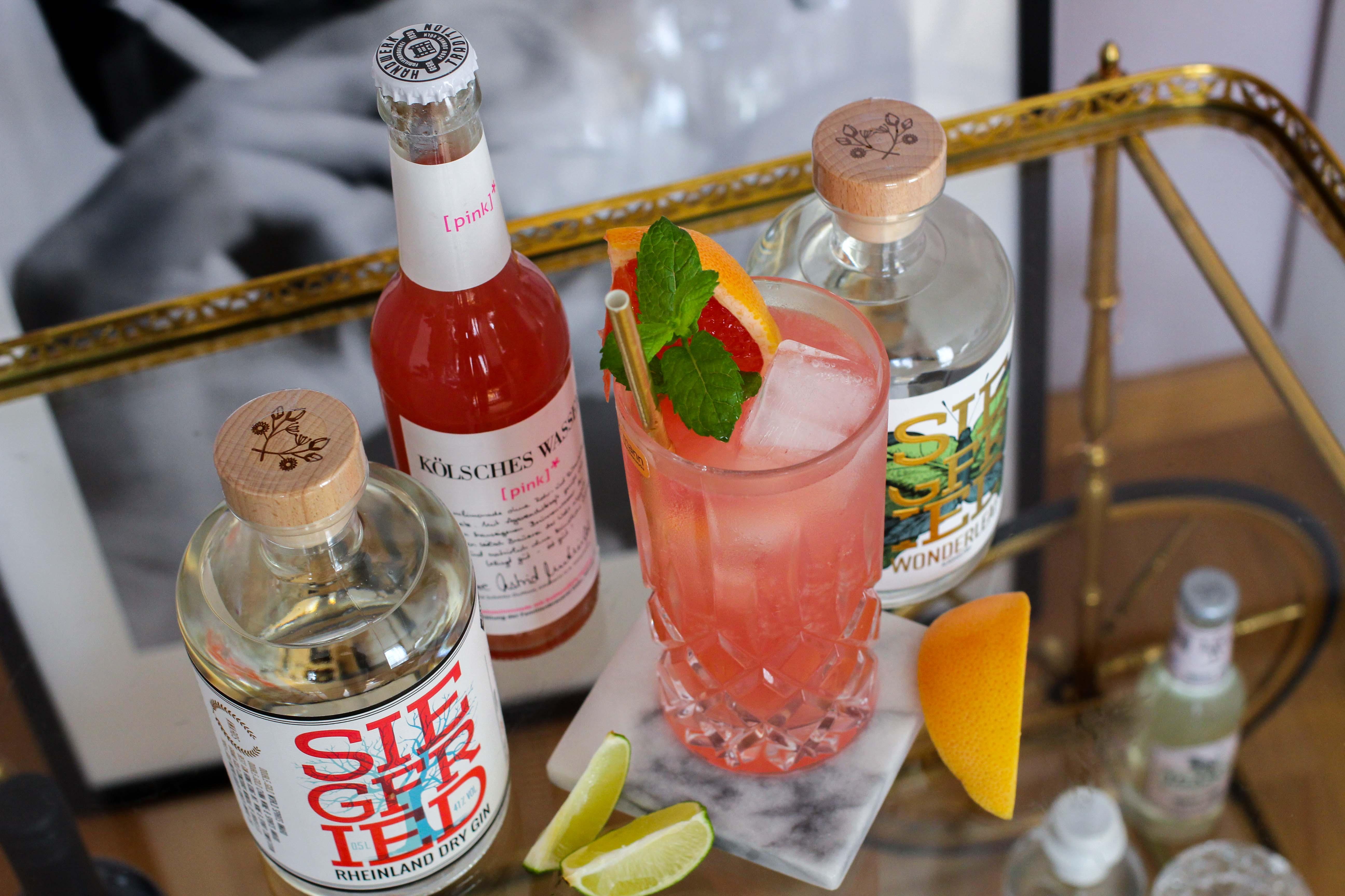 30ster Geburtstag Gin Rezept Siegfried Gin Cocktail BrinisFashionBook Dirty30 Grapefruit Highball Wonderleaf 3