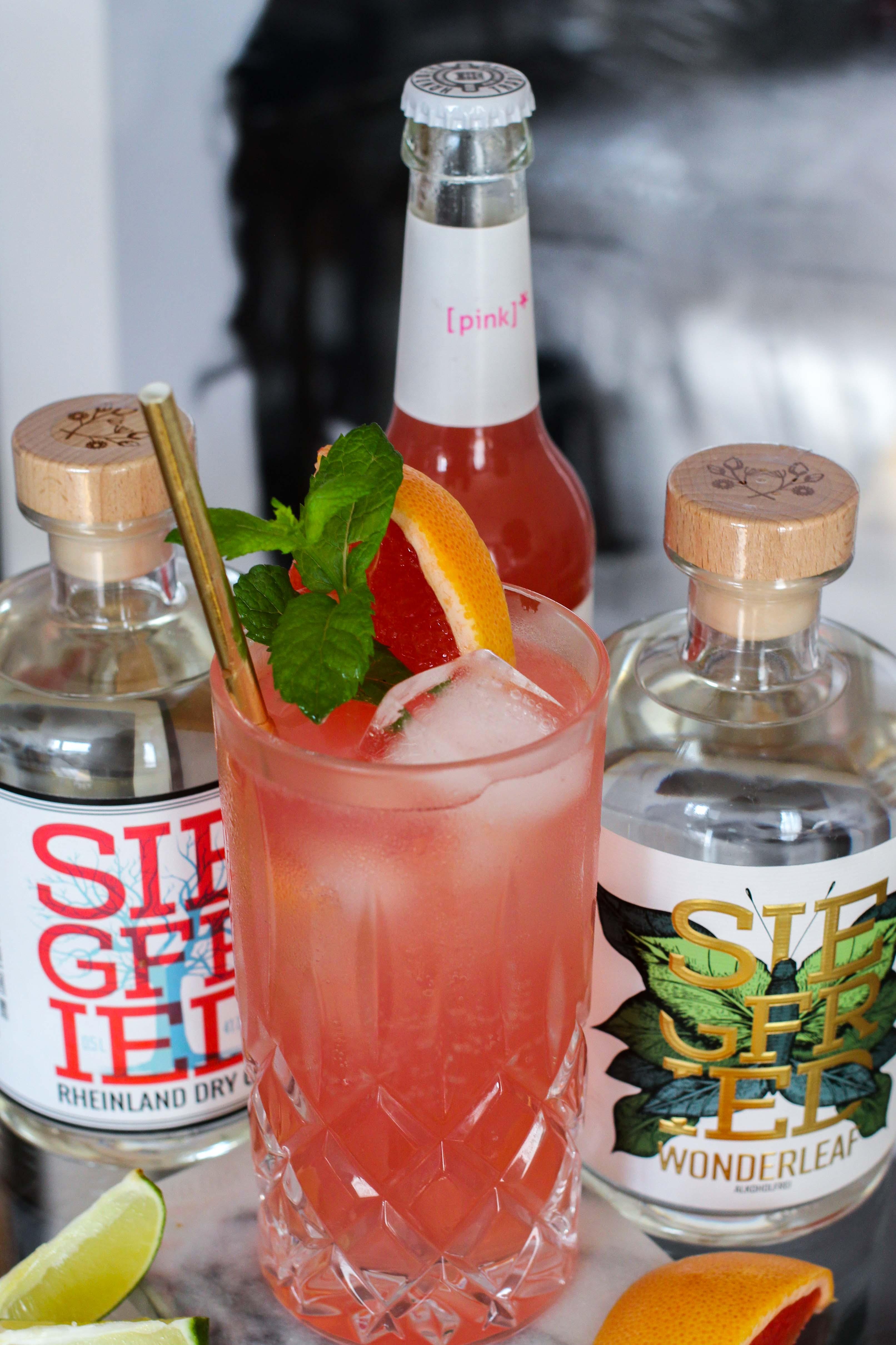 30ster Geburtstag Gin Rezept Siegfried Gin Cocktail BrinisFashionBook Dirty30 Grapefruit Highball Wonderleaf 4