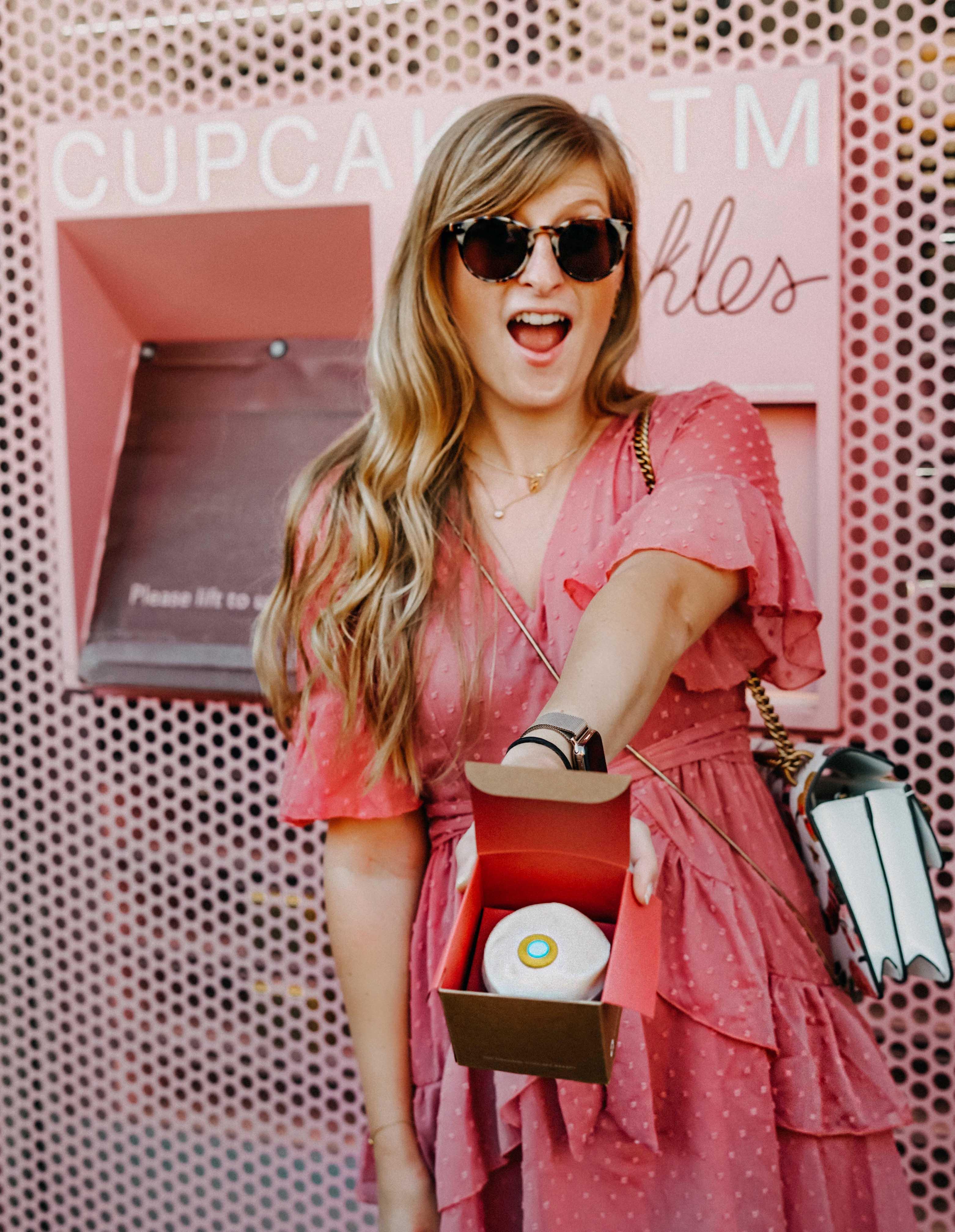 Top Insider Tipps Los Angeles Cupcake Automat pink Sprinkles Cupcake ATM Instagram Spot LA Reiseblog