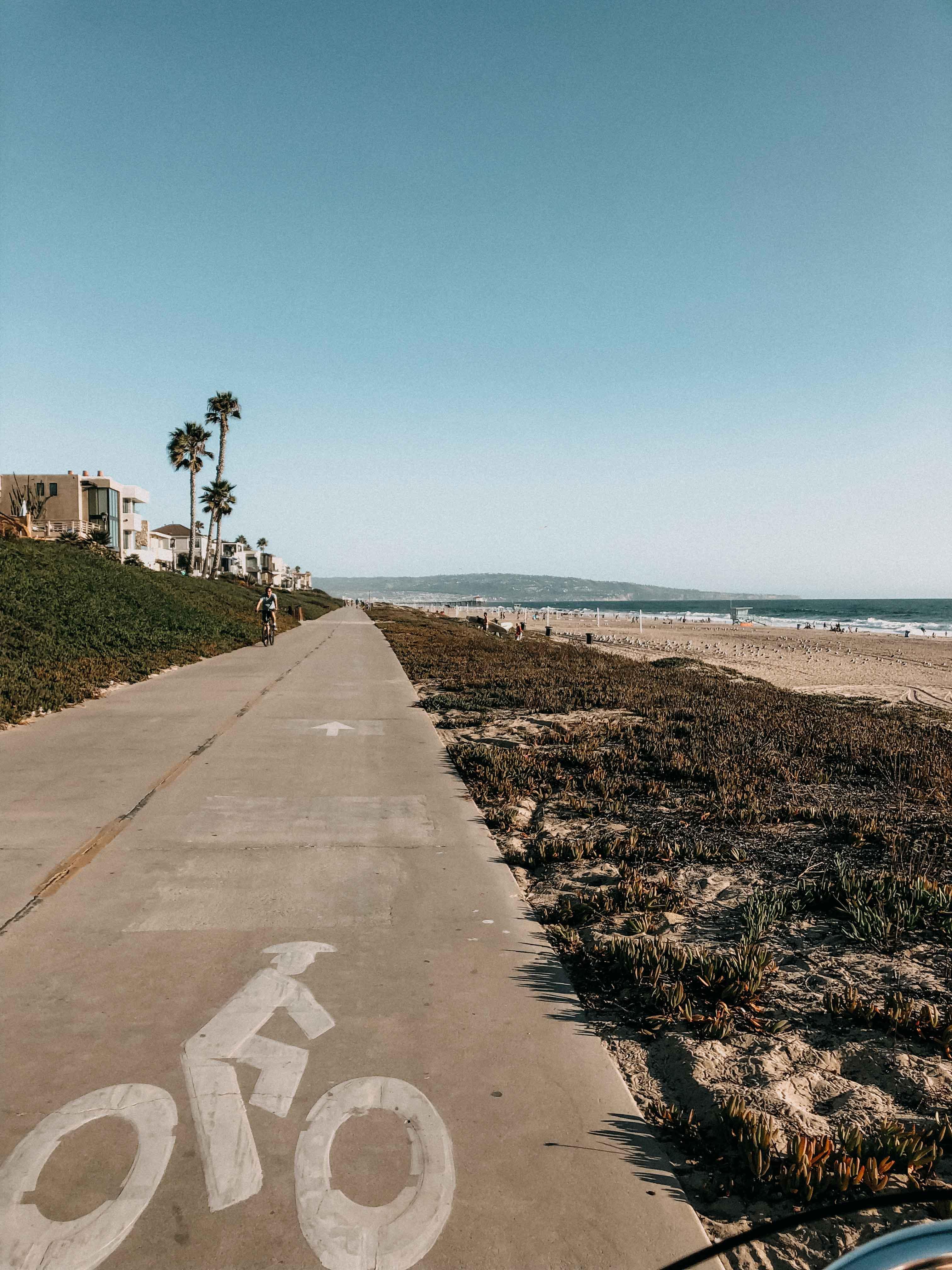 Top Insider Tipps Los Angeles Marvin Braude Bike Trail fahrradtour LA Strandweg Fahrrad fahren ausleihen 5