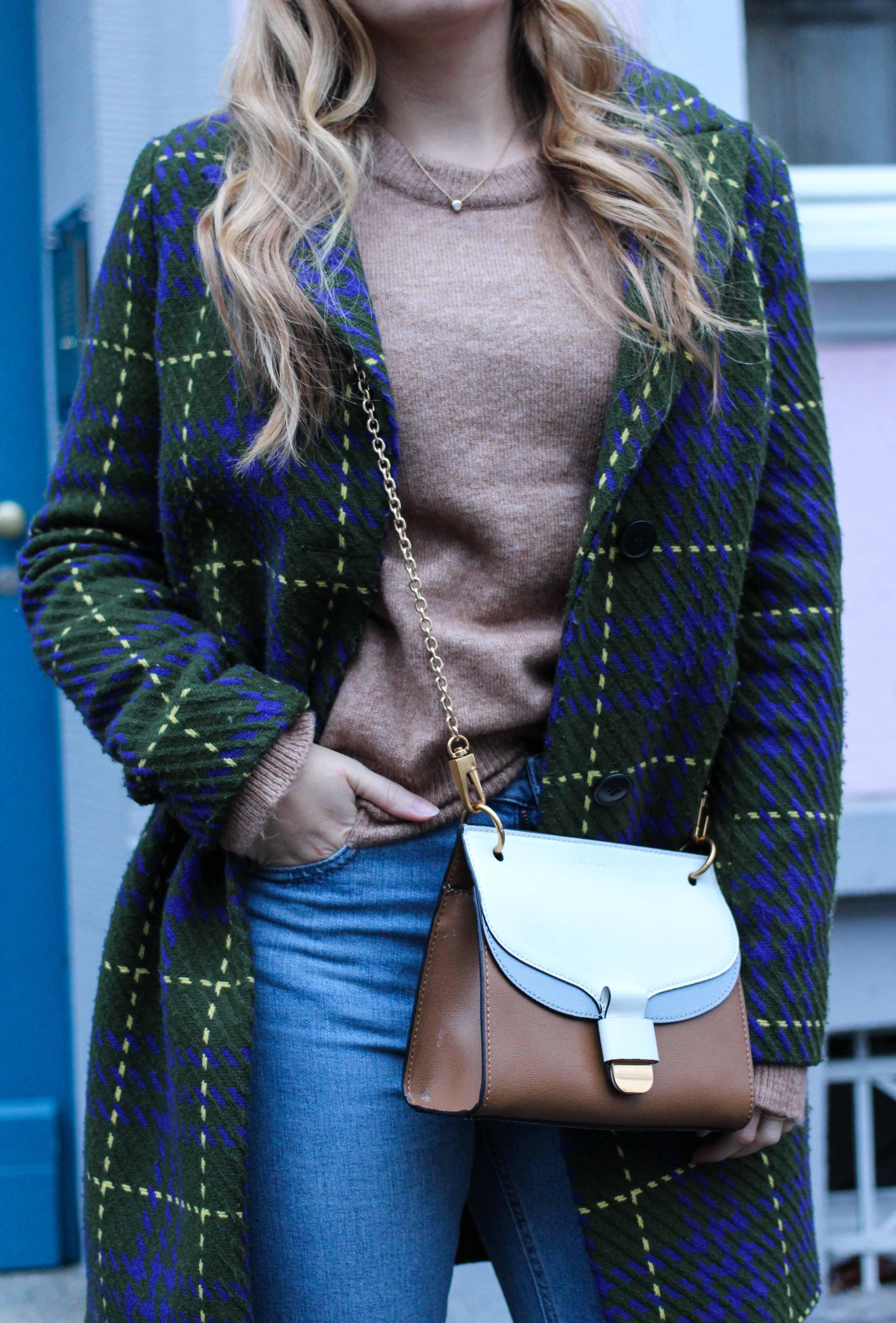 Herbst Must-Have 2019 Karomantel. Herbstmode Herbsttrend Mantel karriert Modeblog Outfit Herbst Fashion Blog Bonn 8