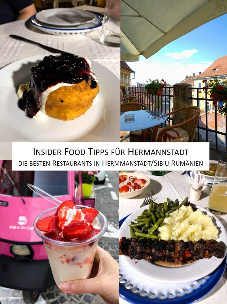 Insider Food Restaurant Tipps Hermannstadt Sibiu Rumänien