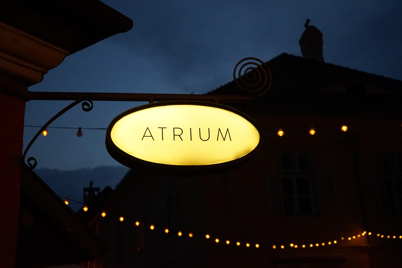 Restaurant Tipps Hermannstadt Sibiu Rumänien Insider Tipps Atrium Cafe Reiseblog 3