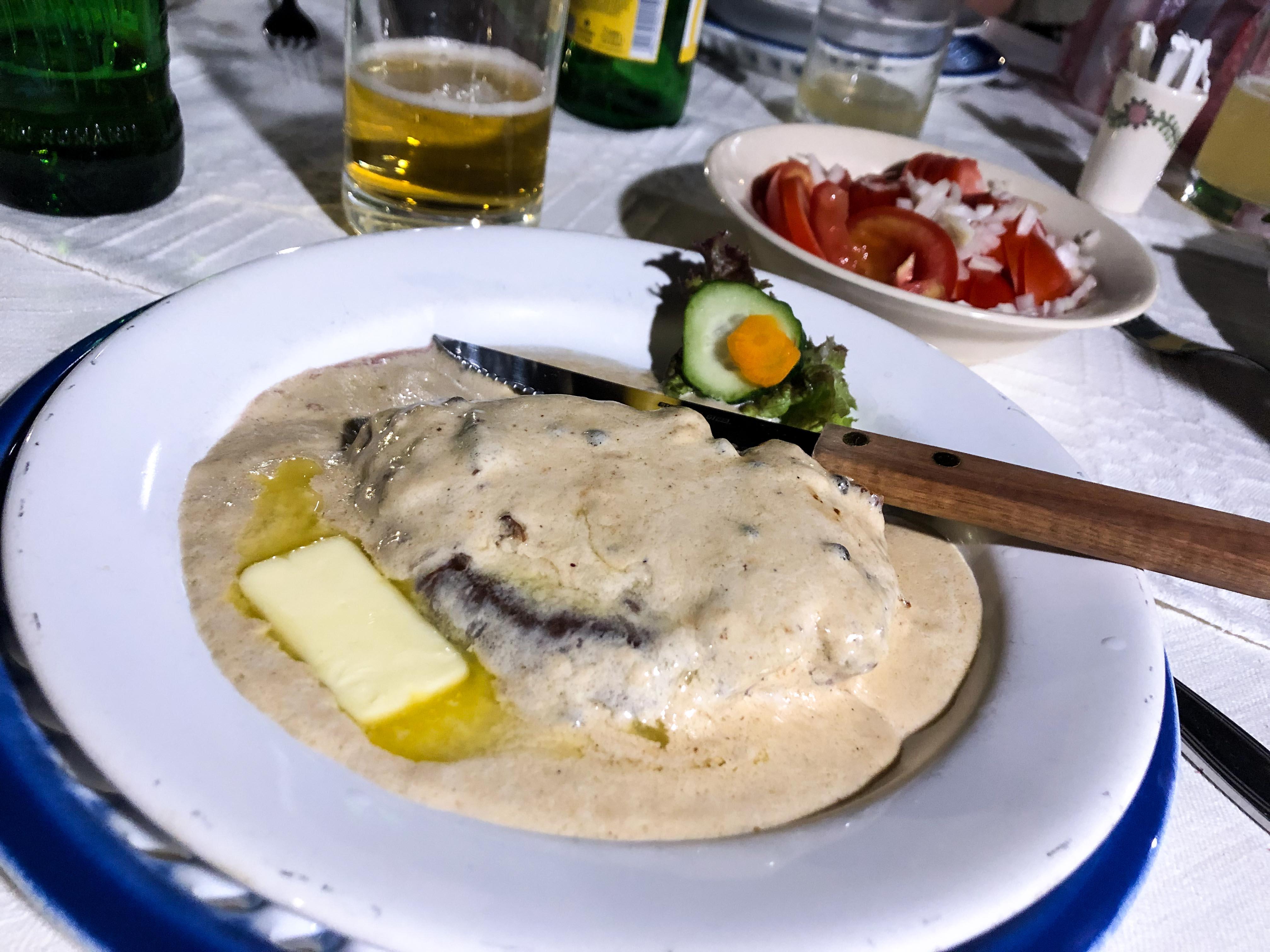 Restaurant Tipps Hermannstadt Sibiu Rumänien Insider Tipps Crama Sibiul Vechi einheimisches Restaurant Rumänische Küche Reiseblog 2