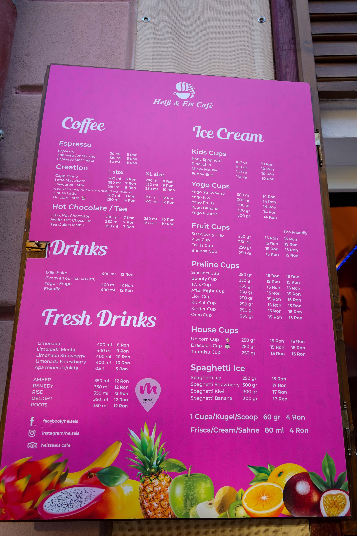 Restaurant Tipps Hermannstadt Sibiu Rumänien Insider Tipps Heiss-Eis Cafe Reiseblog 2