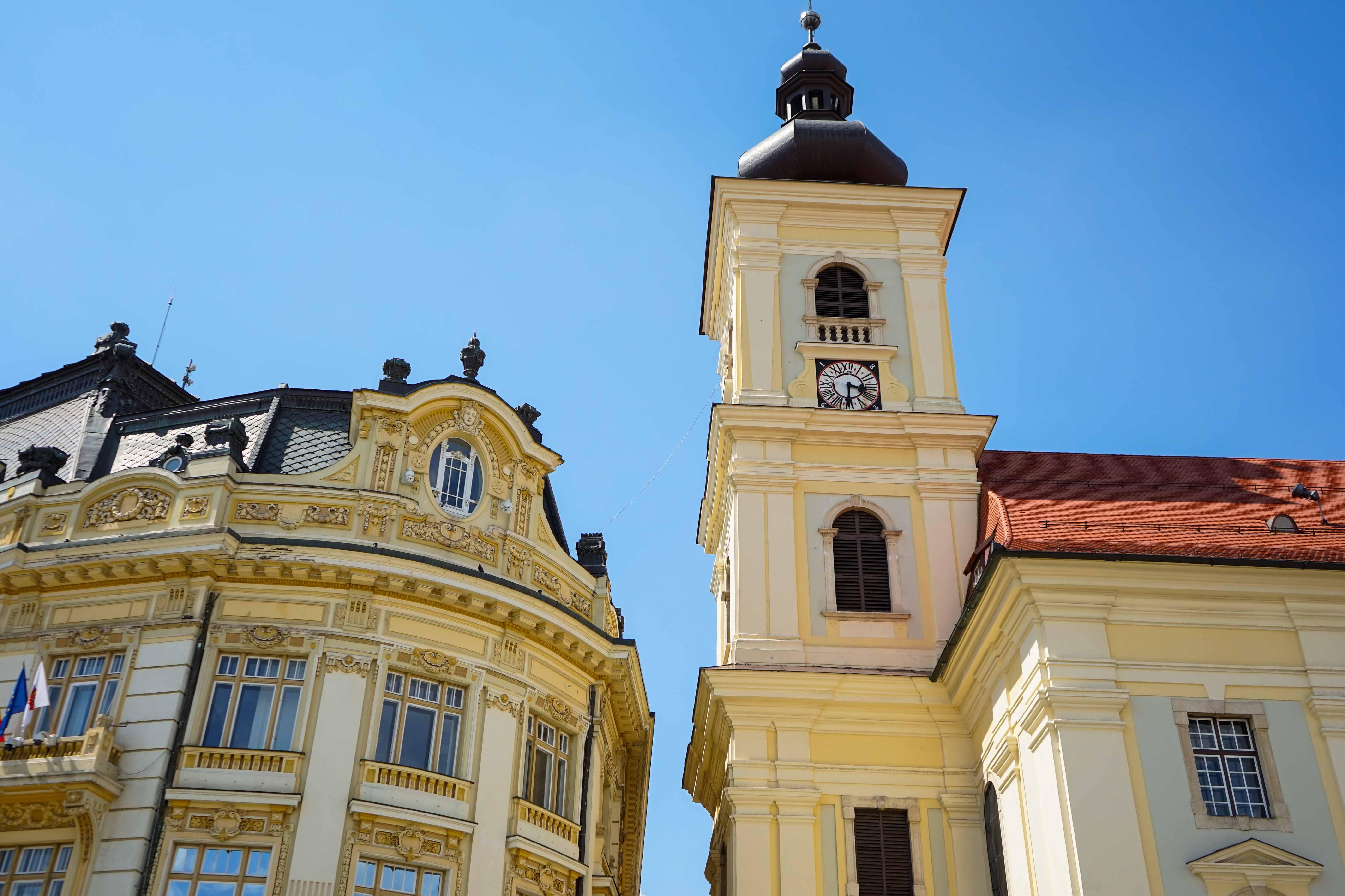 Top 10 Tipps Hermannstadt Sibiu Rumänien Reiseblog Innenstadt Sehenswürdigkeiten bunte Häuser Insider Tipps Brinisfashionbook 4