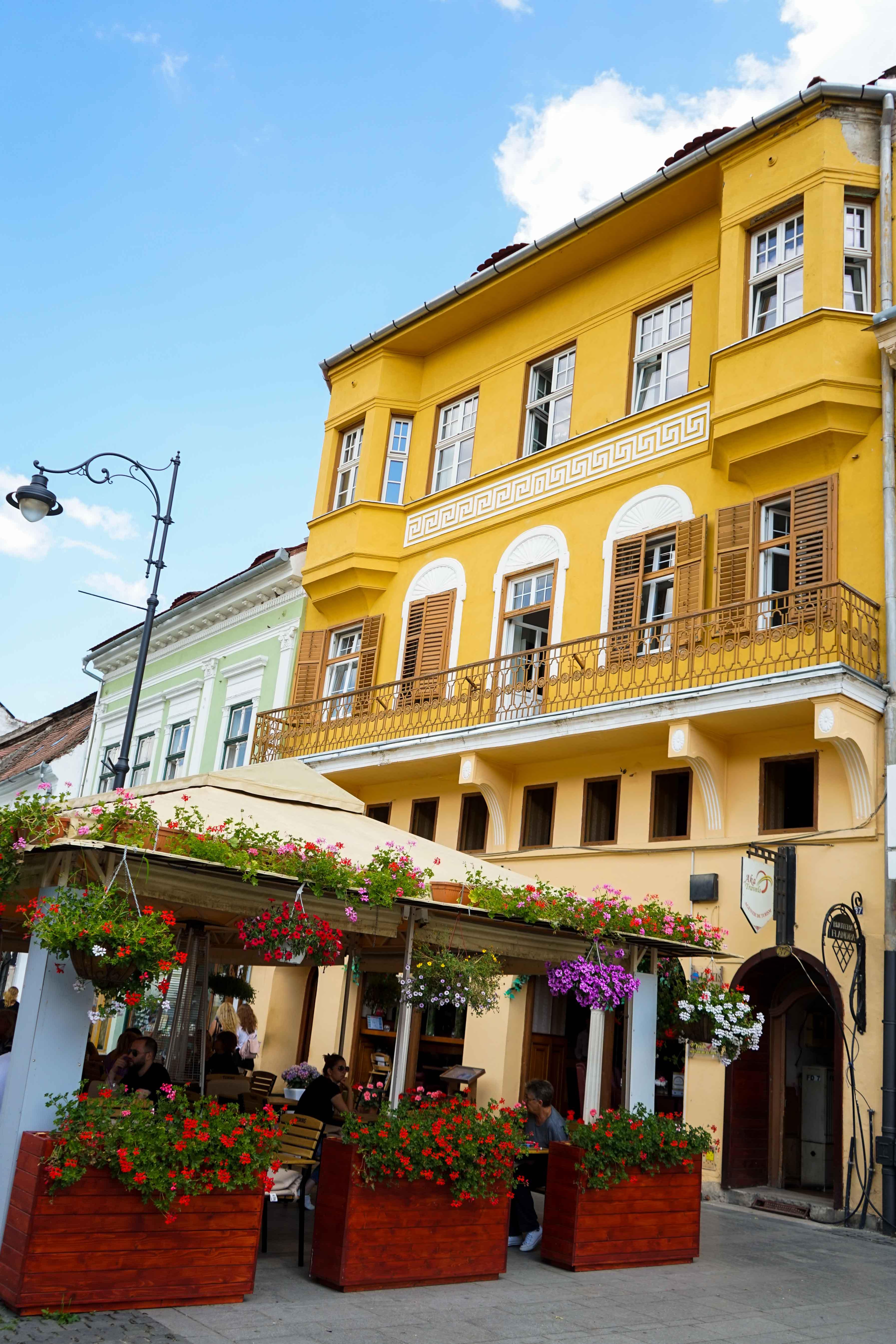 Top 10 Tipps Hermannstadt Sibiu Rumänien Reiseblog Innenstadt alte Häuser Restaurants Insider Tipps Travel Blog Brinisfashionbook 2