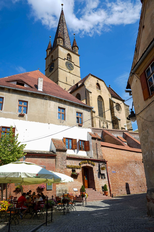 Top 10 Tipps Hermannstadt Sibiu Rumänien Reiseblog Innenstadt alte Häuser Restaurants Insider Tipps Travel Blog Brinisfashionbook 4