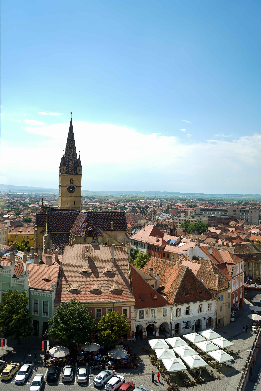Top 10 Tipps Hermannstadt Sibiu Rumänien Reiseblog Sehenswürdigkeiten Blick Rathausturm Insider Tipps Brinisfashionbook