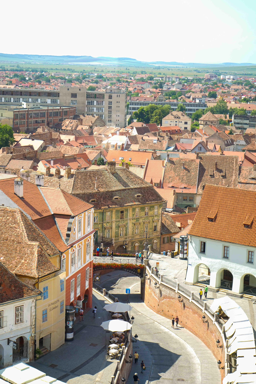 Top 10 Tipps Hermannstadt Sibiu Rumänien Reiseblog Sehenswürdigkeiten Lügenbrücke Blick Rathausturm Insider Tipps Brinisfashionbook