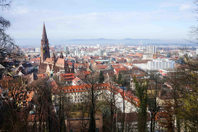 Freiburg Breisgau Reiseblog Sightseeing Dom Kanonenplatz Schlossberg Wandern 2