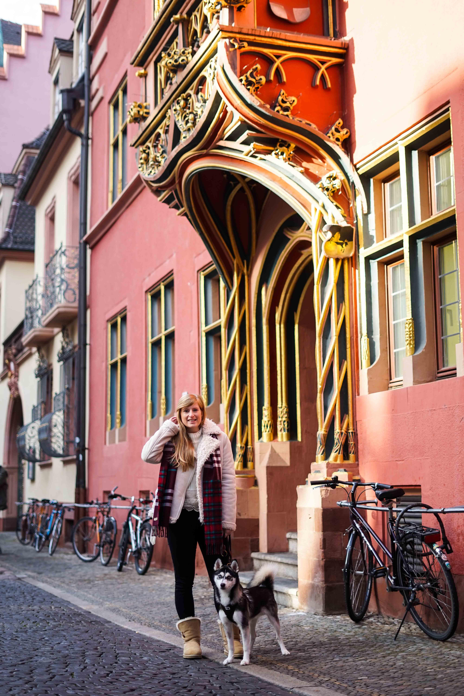 Freiburg Breisgau Reiseblog Sightseeing Wahlhaus Pomsky