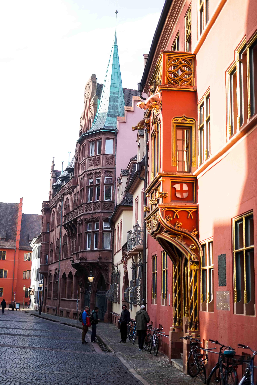 Freiburg Sehenswürdigkeiten Wochenendtrip Freiburg Altstadt Haus zum Wahlfisch Reiseblog Freiburg Tipps